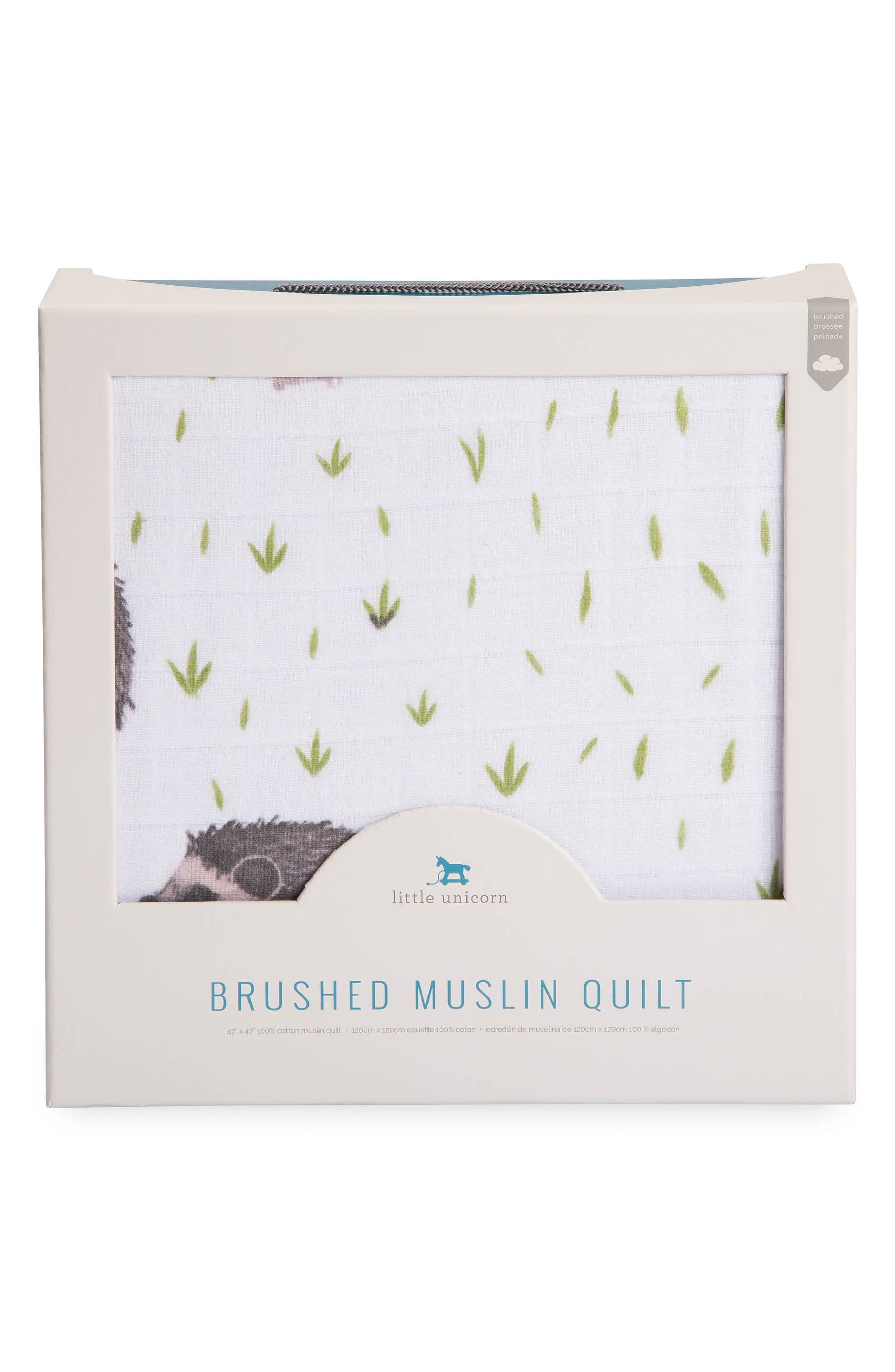 Brushed Cotton Muslin Quilt,                             Alternate thumbnail 3, color,                             250