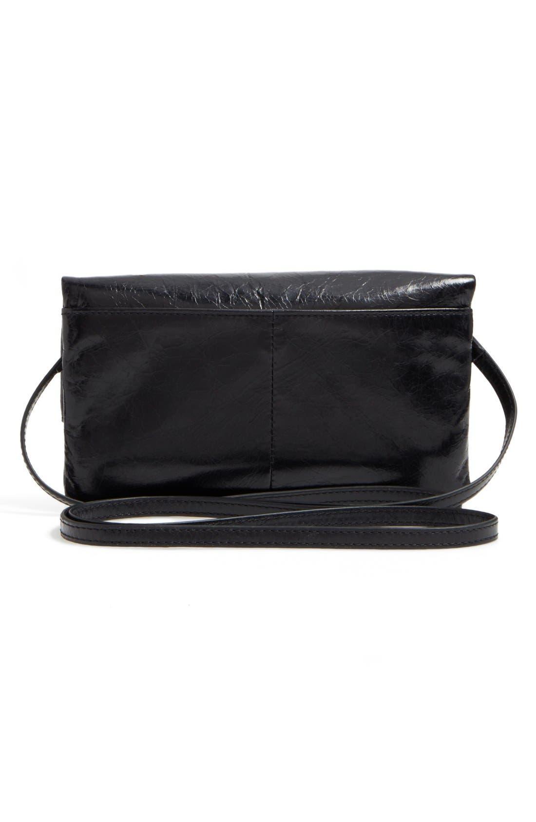 Rudy Leather Crossbody Bag,                             Alternate thumbnail 7, color,                             001