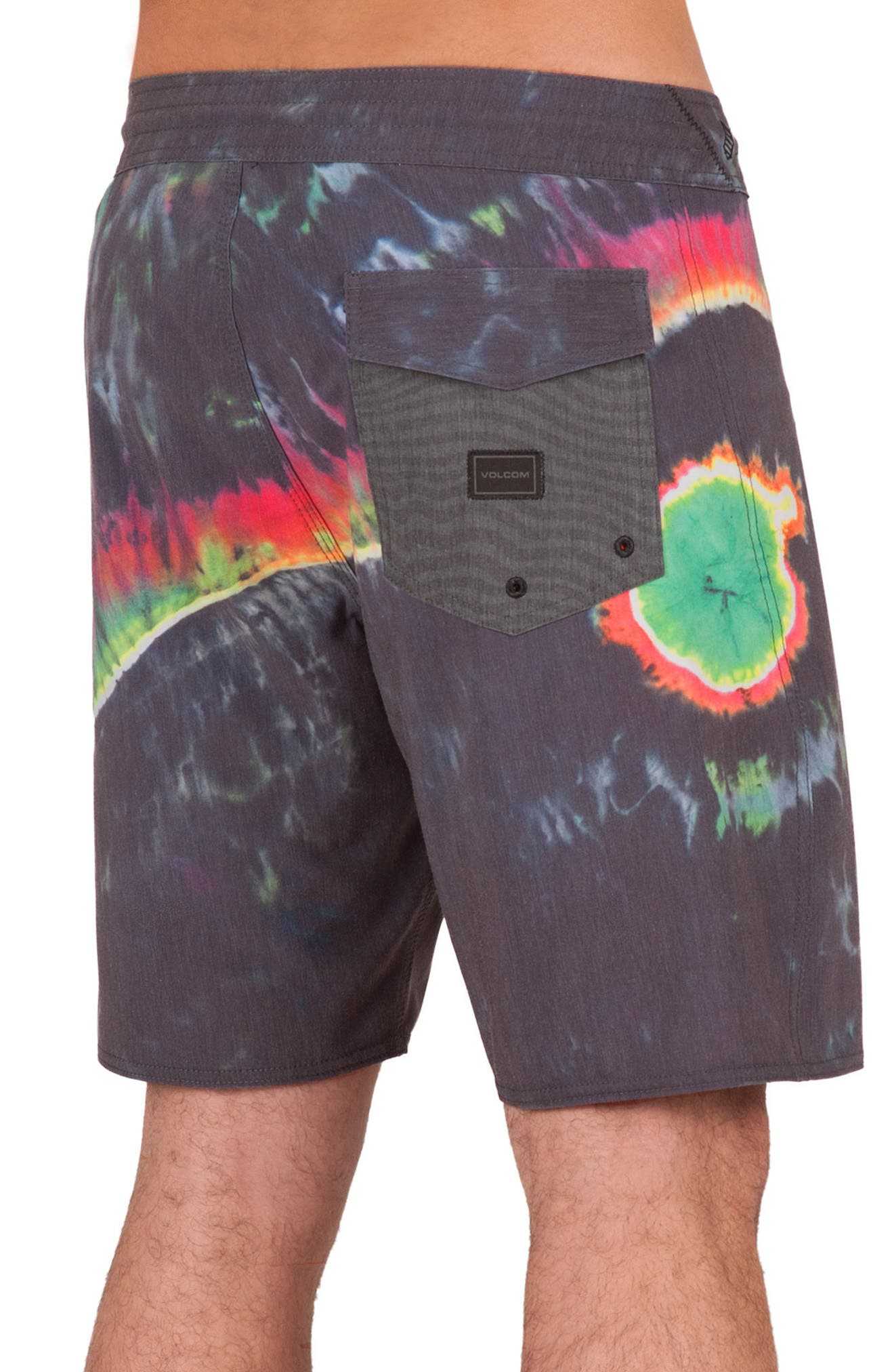 Yin Yang Slinger Board Shorts,                             Alternate thumbnail 2, color,                             002