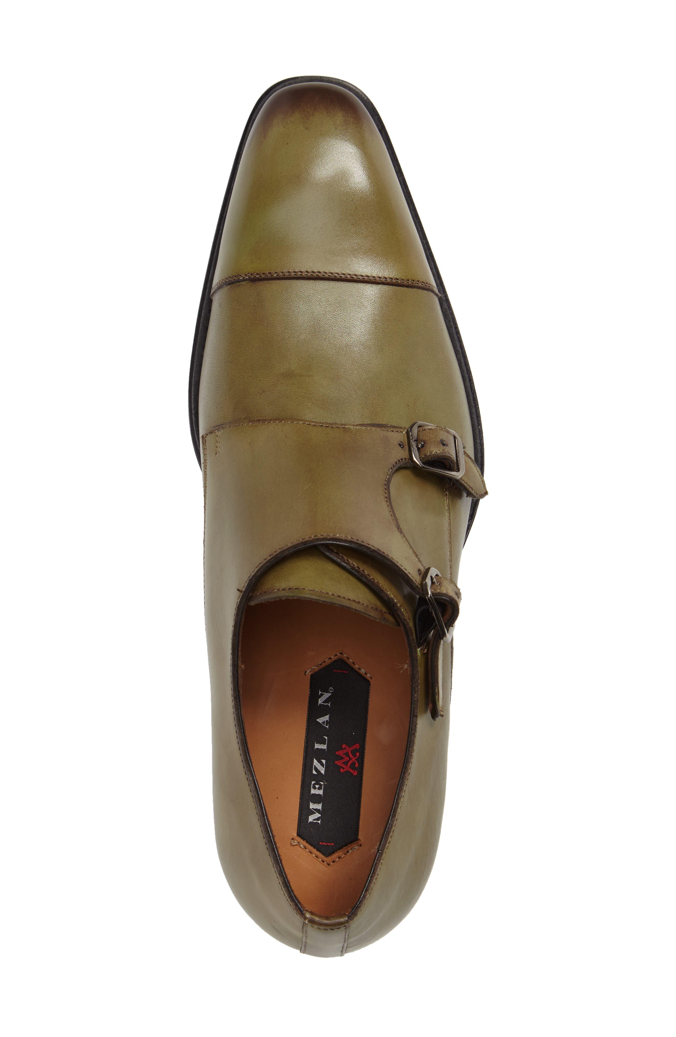 Cajal Double Monk Strap Cap Toe Shoe,                             Alternate thumbnail 10, color,