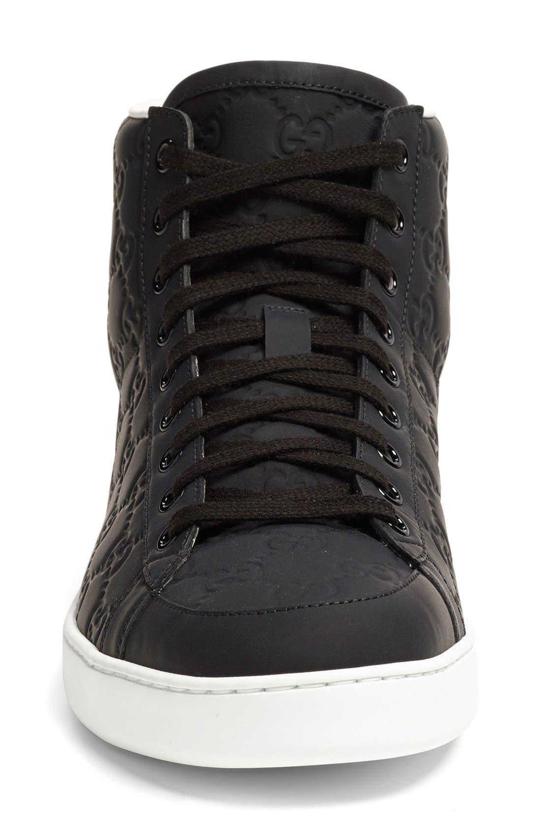 'Brooklyn' High-Top Sneaker,                             Alternate thumbnail 2, color,                             001