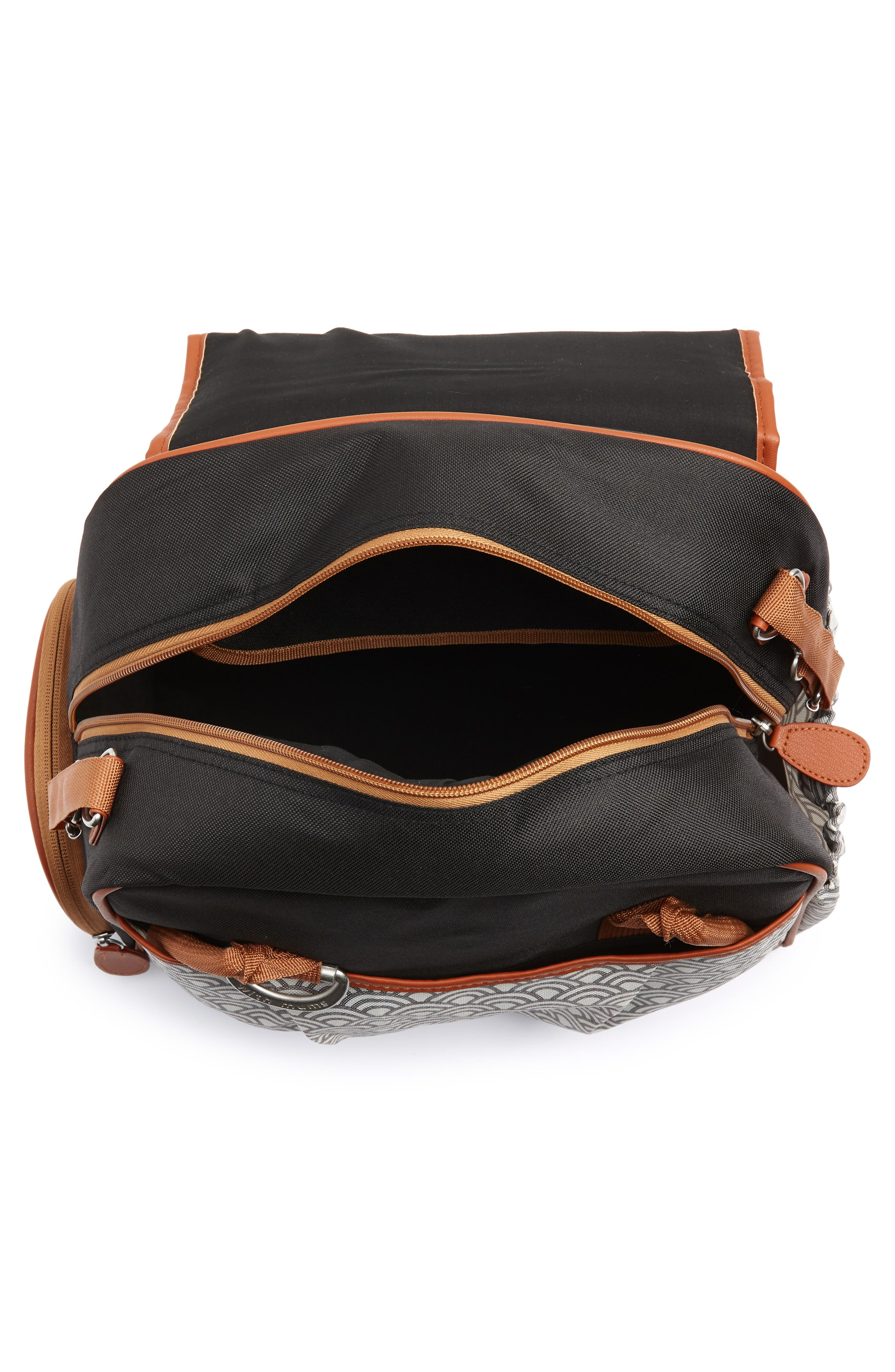 Style Diaper Bag,                             Alternate thumbnail 5, color,                             BLACK