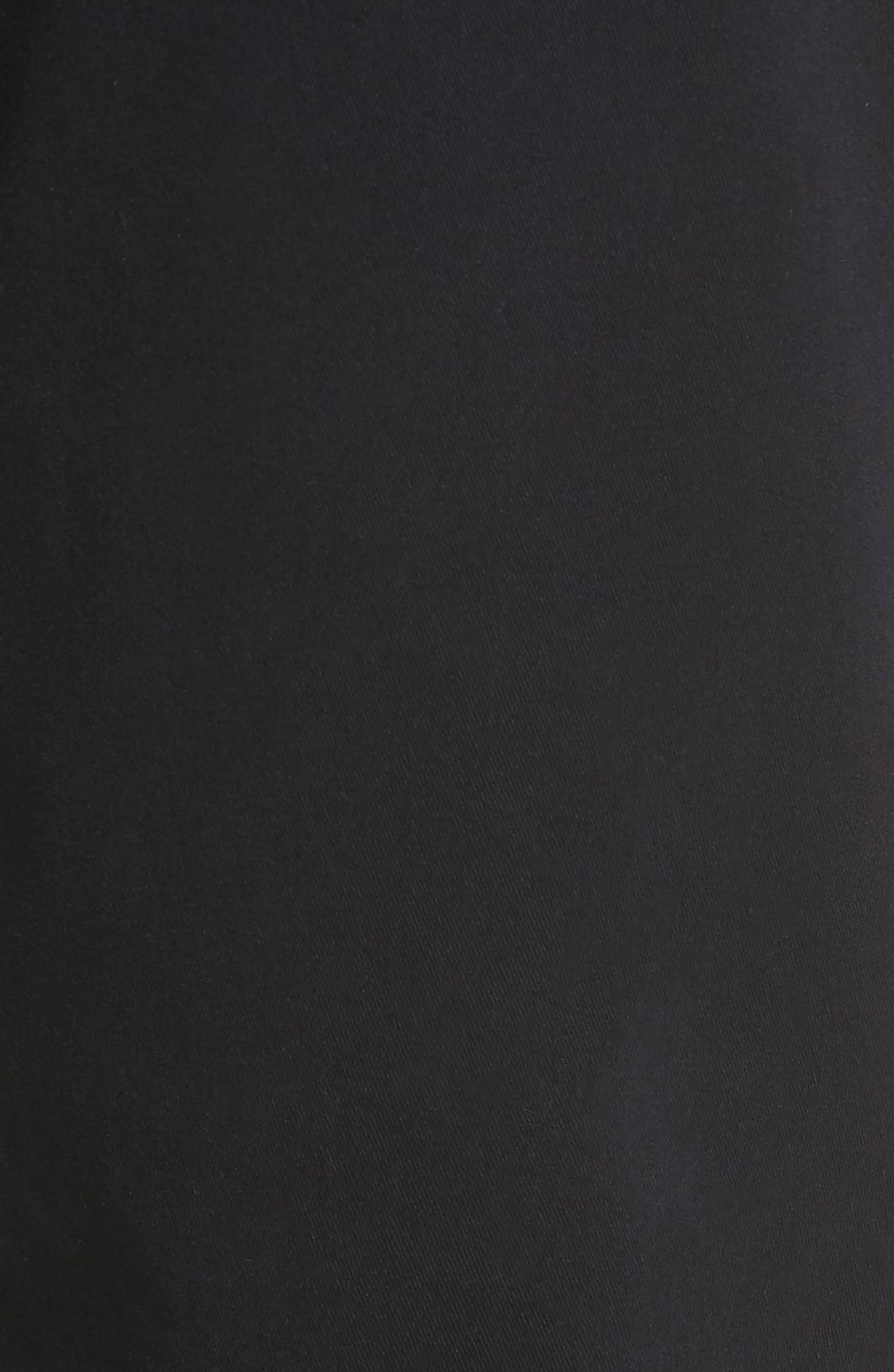 Straight Leg Chinos,                             Alternate thumbnail 5, color,                             BLACK ROCK