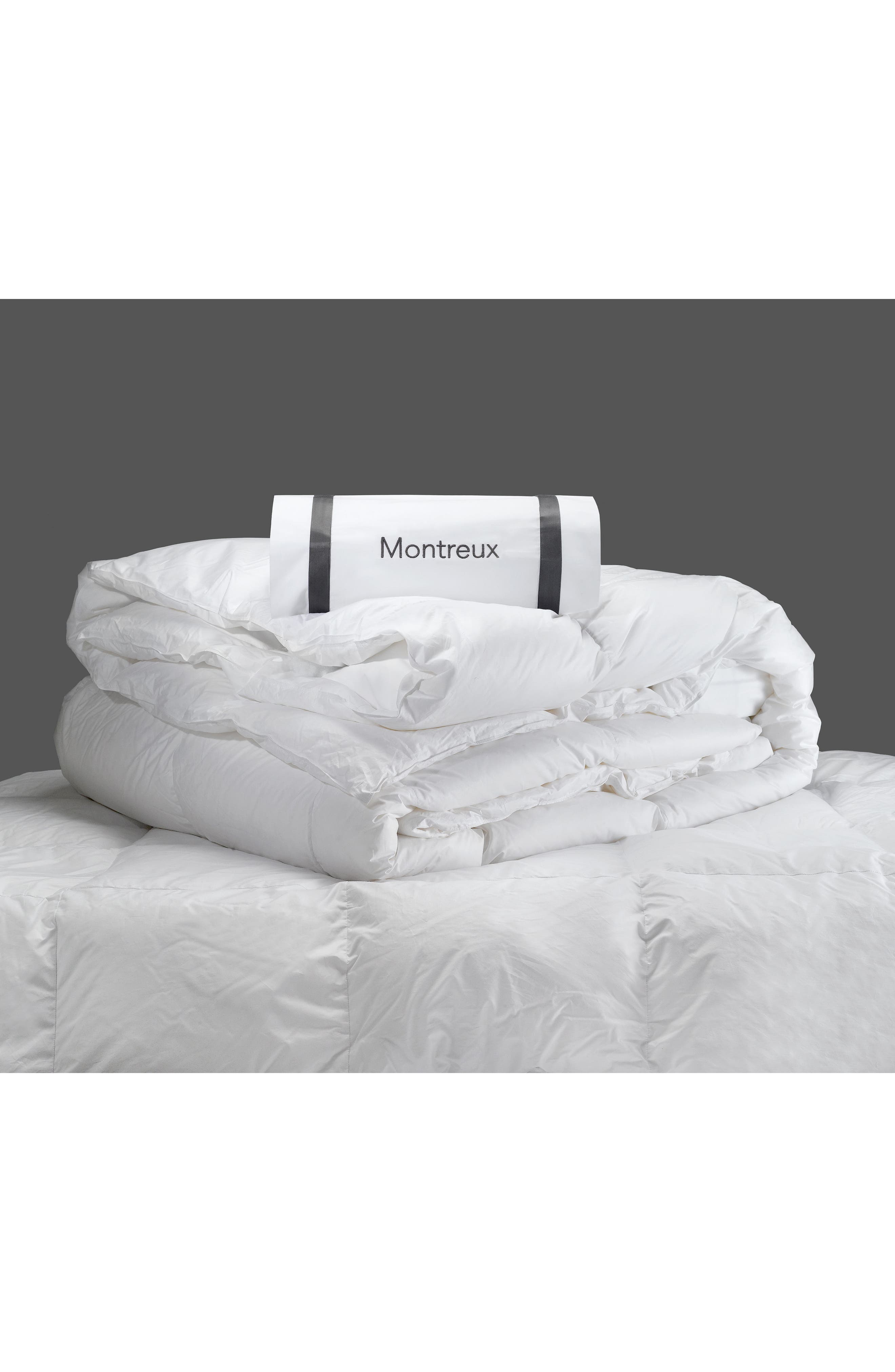 Montreux 600 Fill Power Winter Down 280 Thread Count Comforter,                             Alternate thumbnail 2, color,                             WHITE
