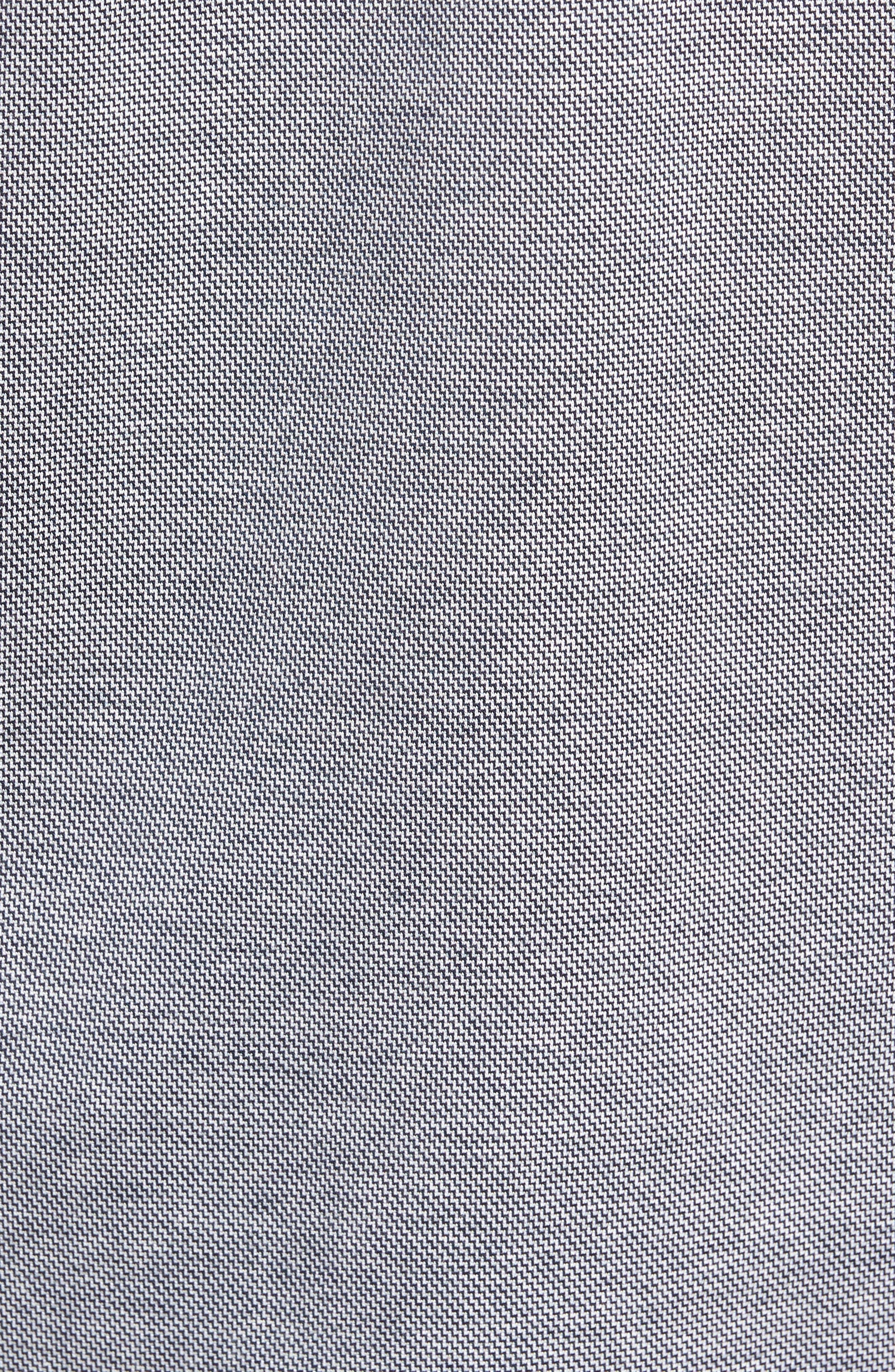 Verde Jacquard Mercerized Cotton Polo,                             Alternate thumbnail 5, color,                             400