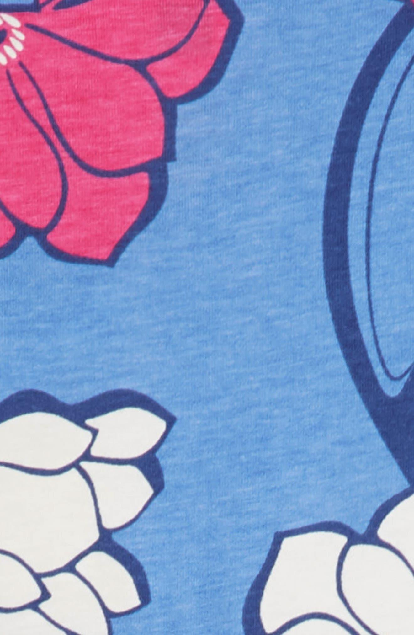 Wrap Neck Dress,                             Alternate thumbnail 3, color,                             495