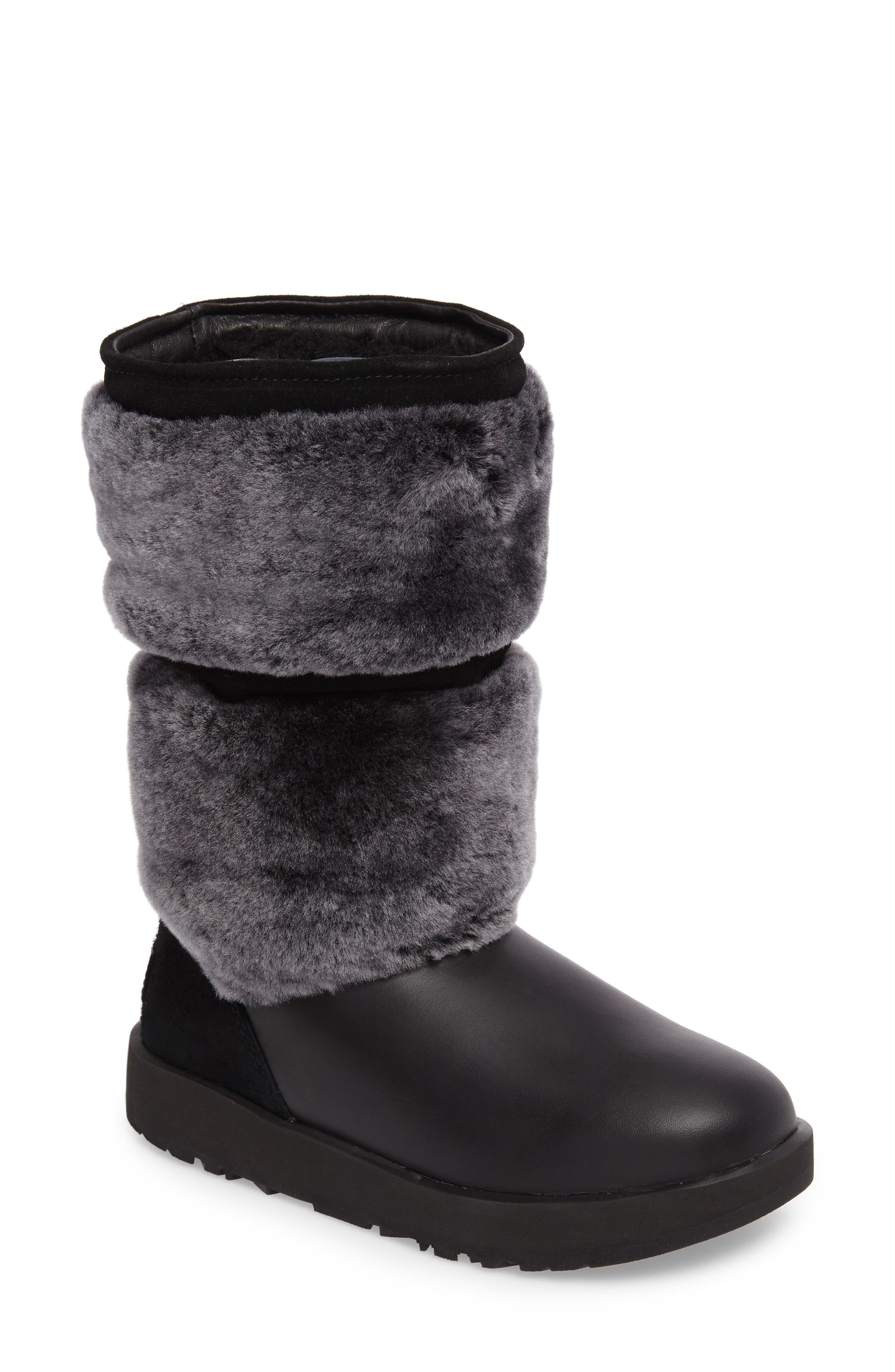 Reykir Waterproof Snow Boot,                             Main thumbnail 1, color,