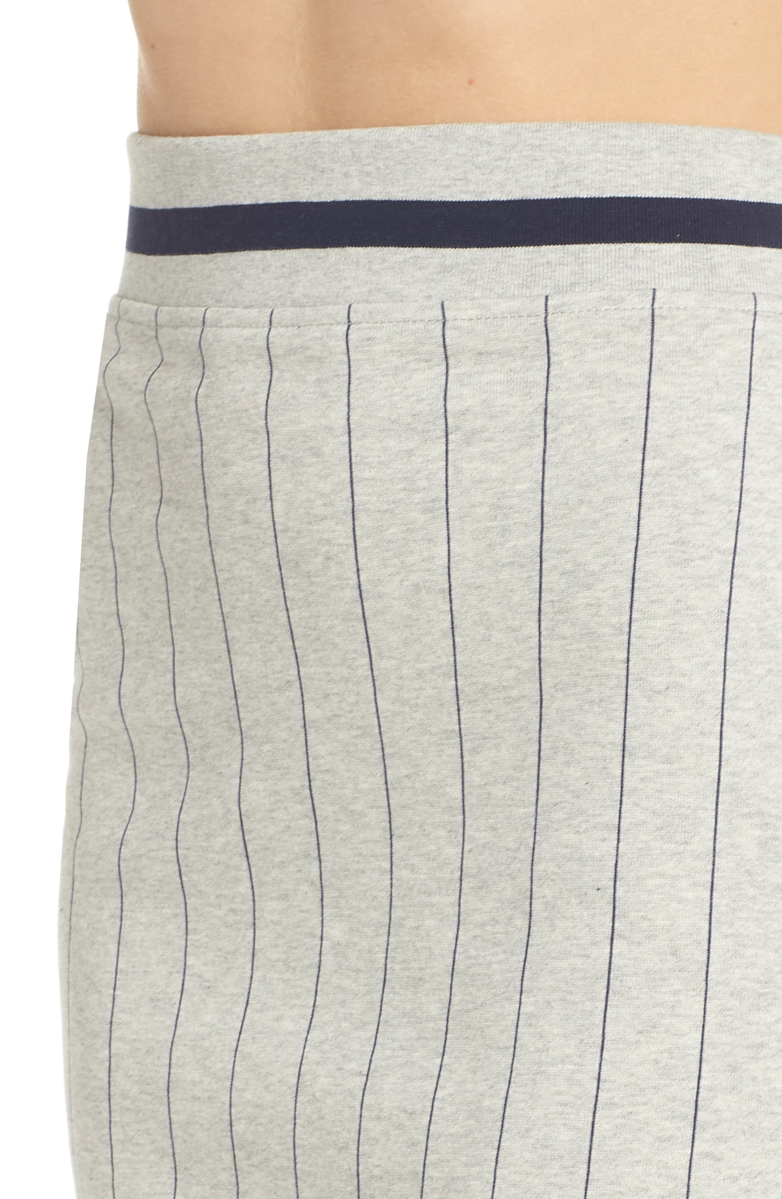 Francesca Pinstripe Skirt,                             Alternate thumbnail 4, color,                             025