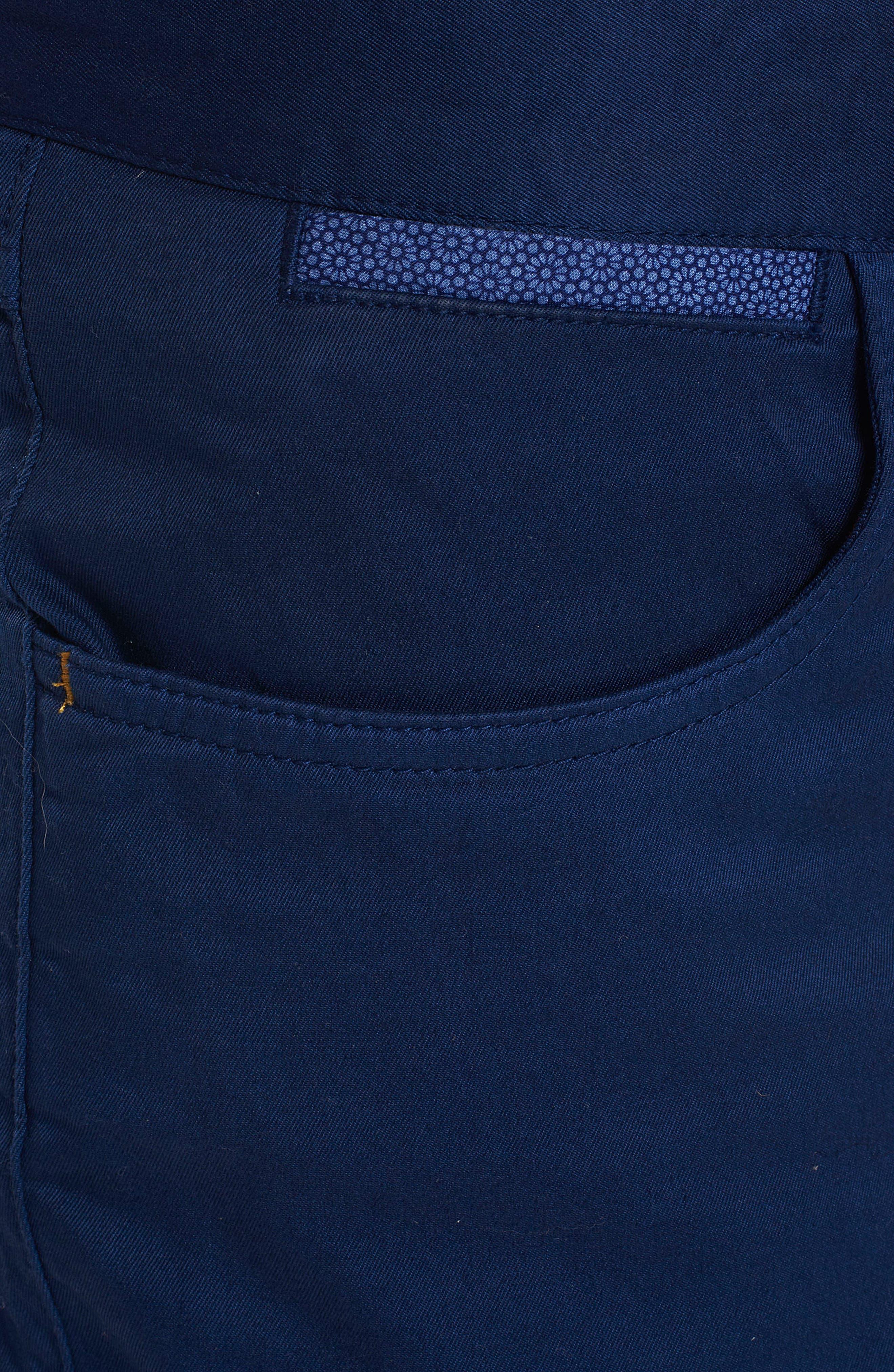 Marti Tailored Fit Pants,                             Alternate thumbnail 4, color,                             BLUE