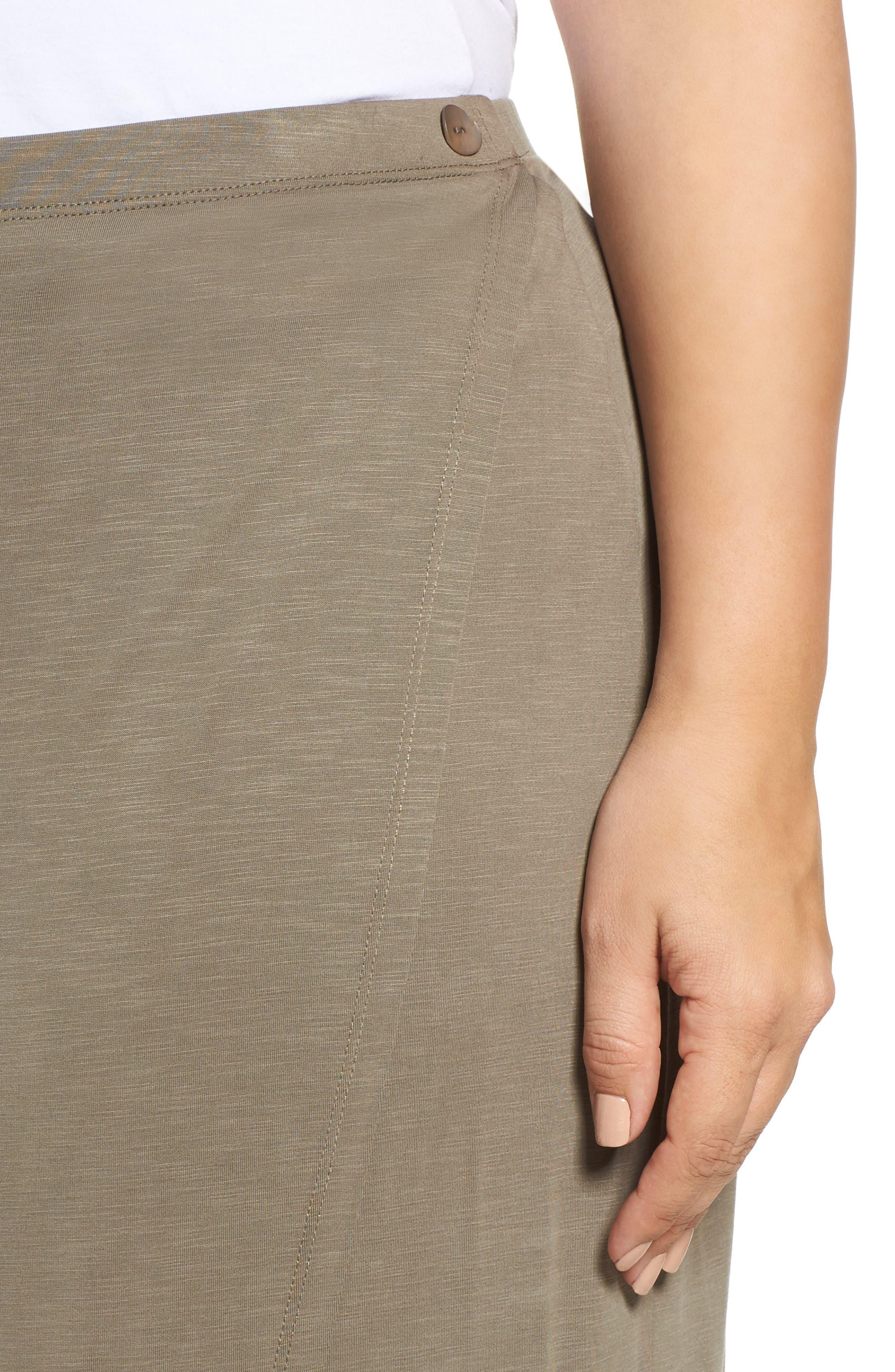 Boardwalk Knit Wrap Maxi Skirt,                             Alternate thumbnail 7, color,