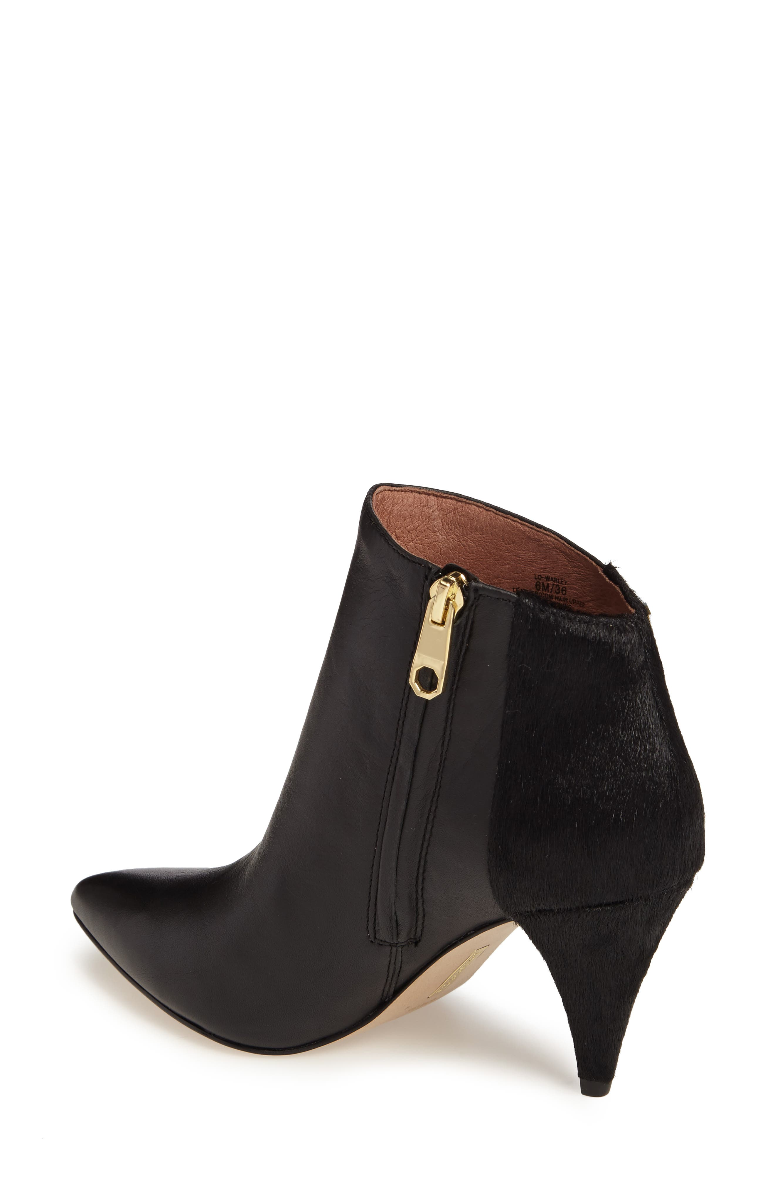 Warley Pointy Toe Bootie,                             Alternate thumbnail 4, color,