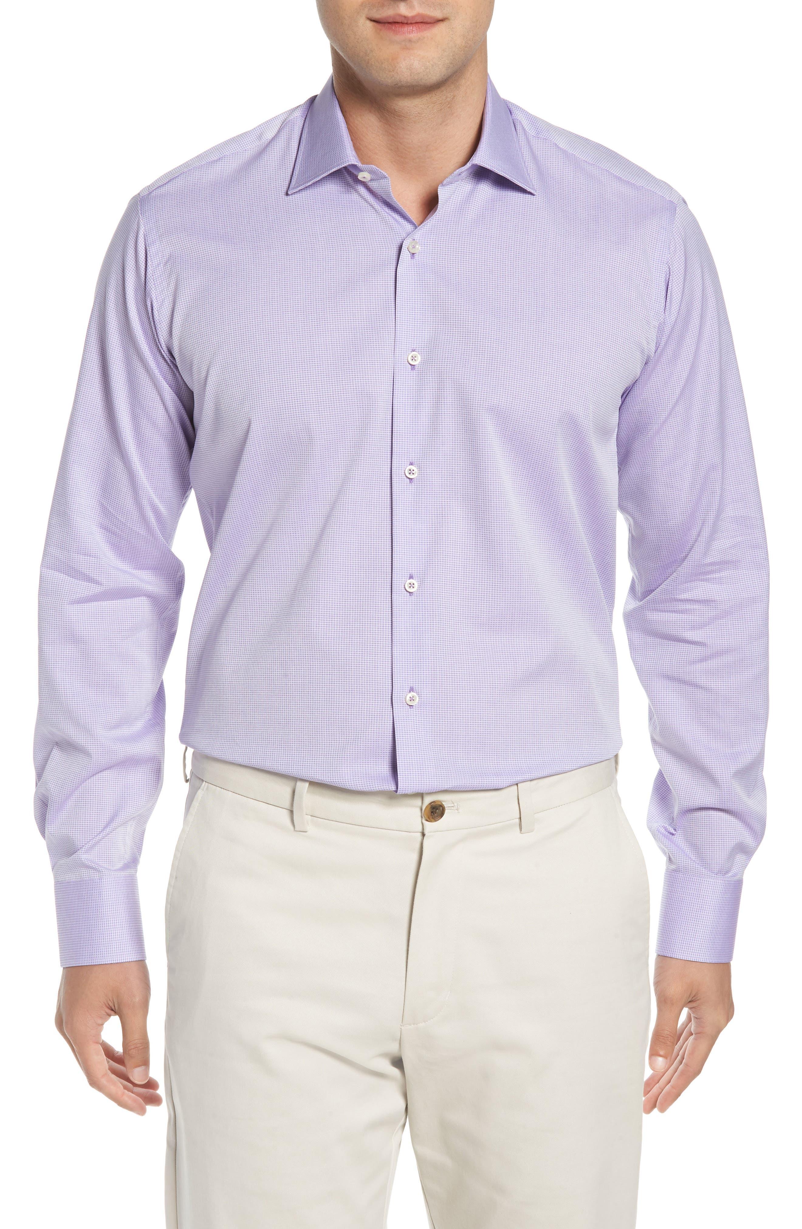 Regular Fit Solid Dress Shirt,                         Main,                         color, 500