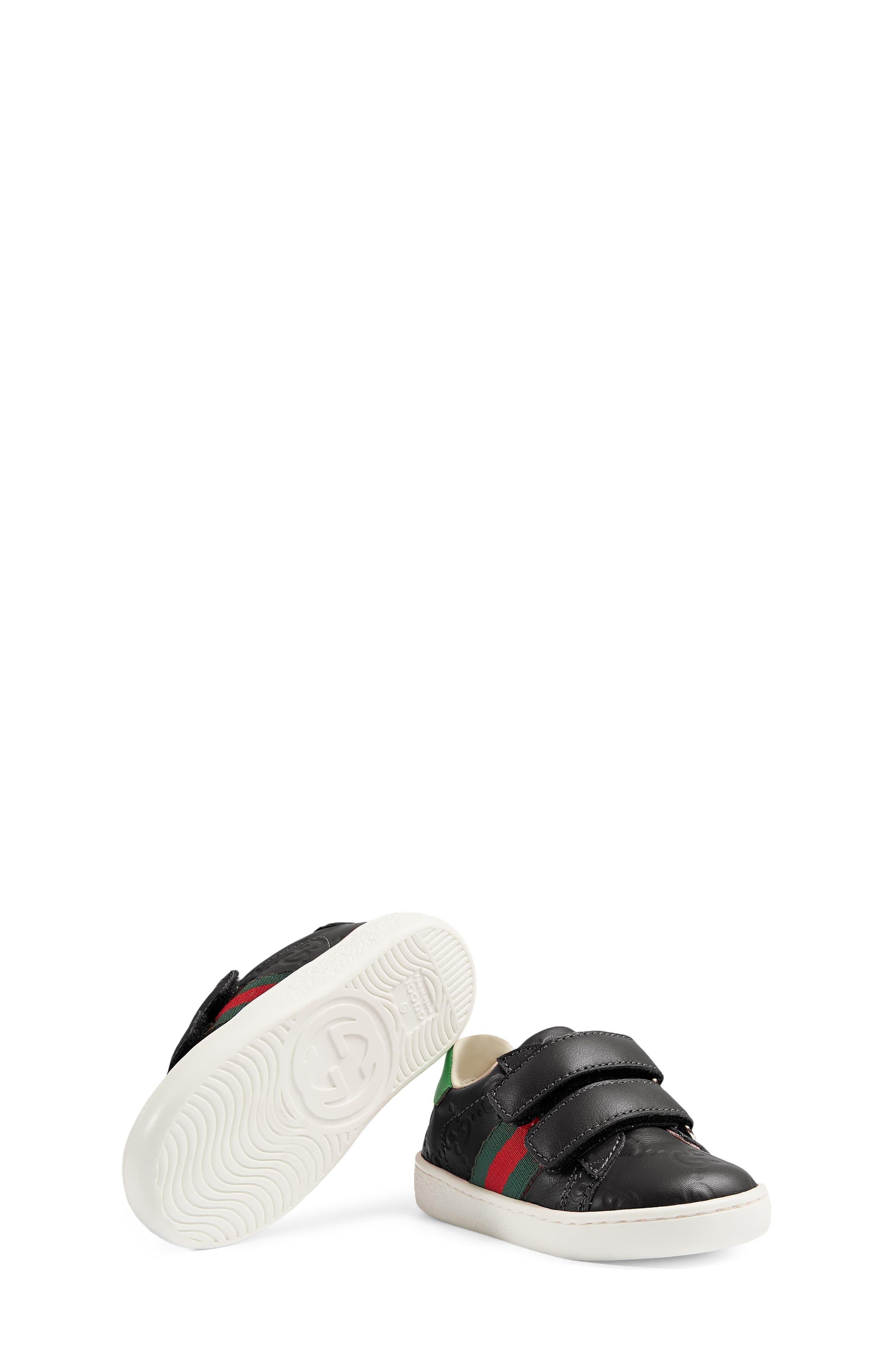 New Ace Sneaker,                             Alternate thumbnail 4, color,                             BLACK
