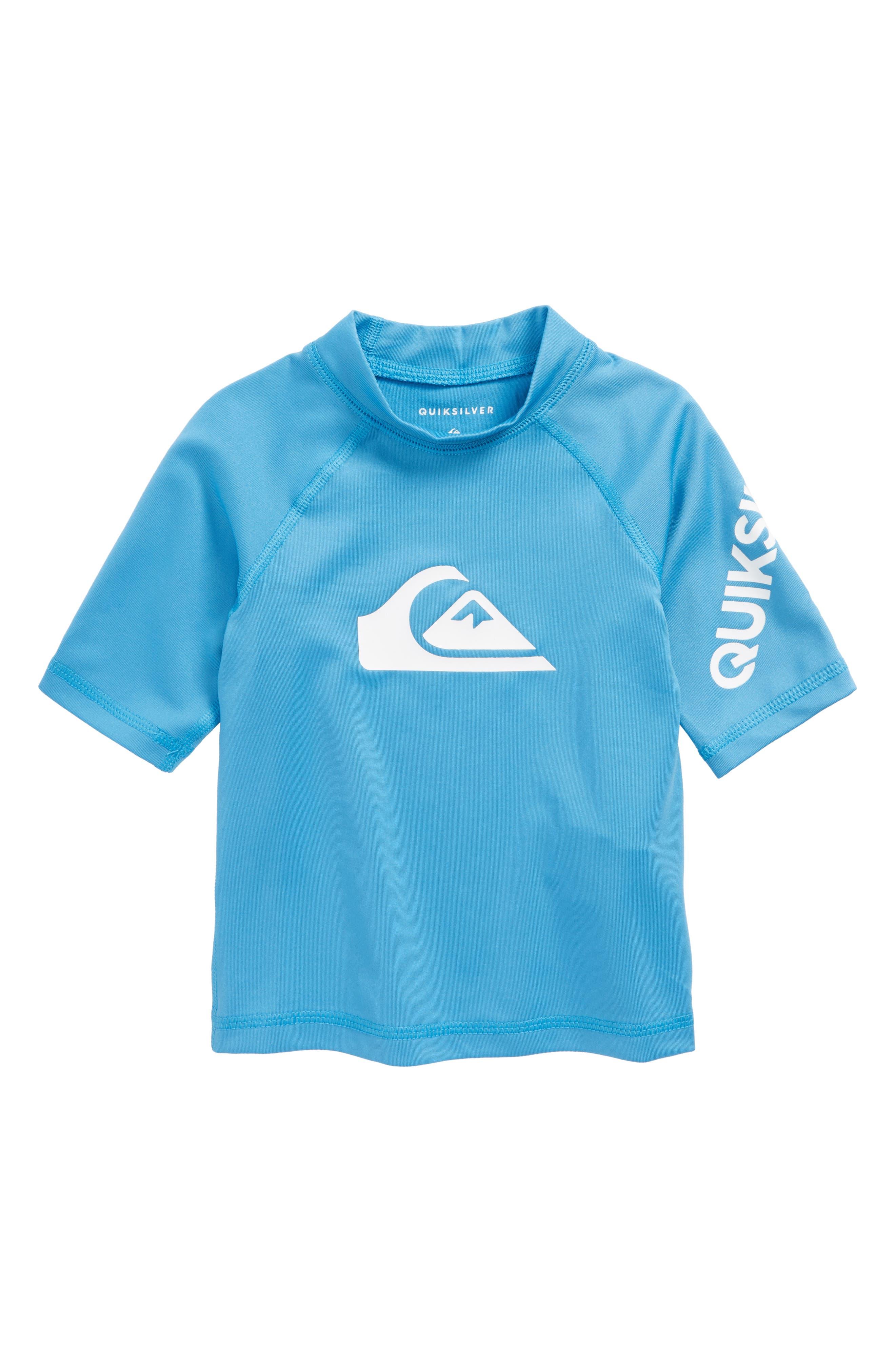Logo Rashguard Shirt,                             Main thumbnail 1, color,