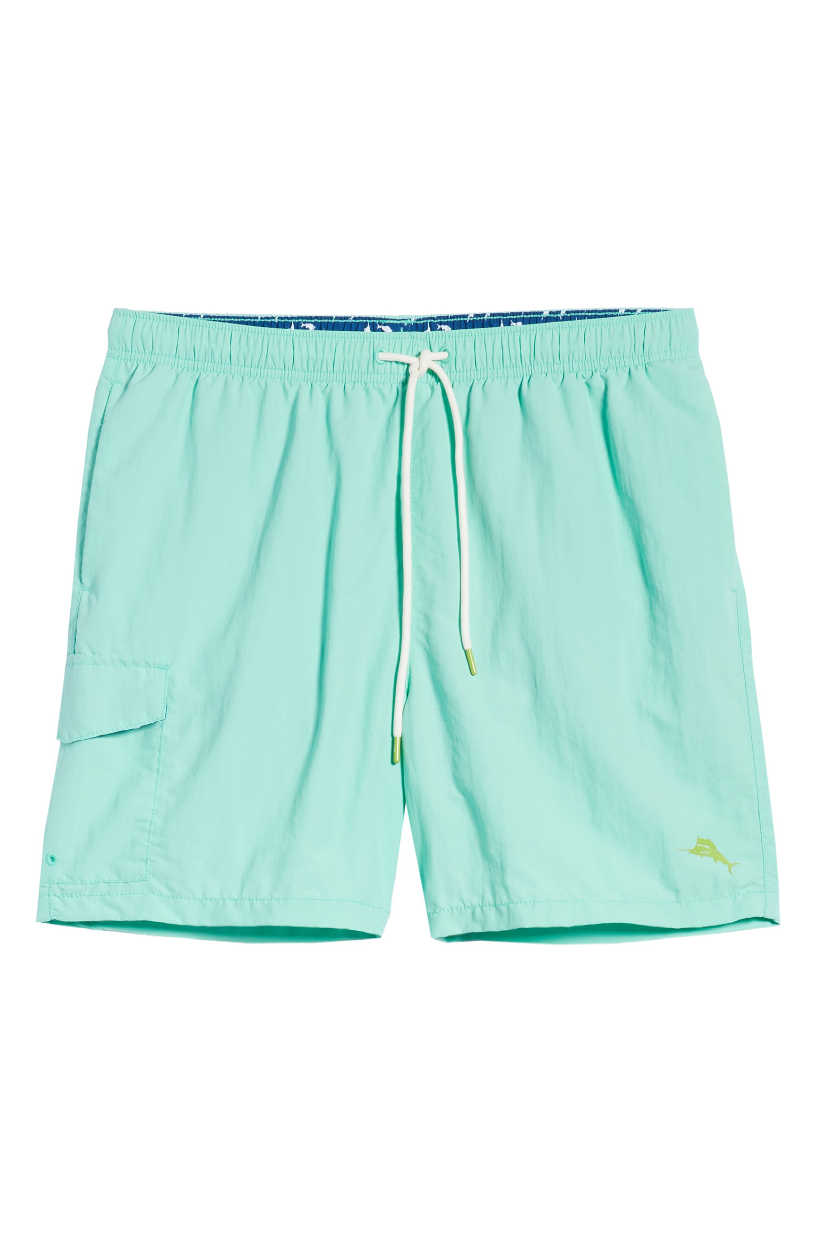 Naples Coast Swim Trunks,                             Alternate thumbnail 6, color,                             302