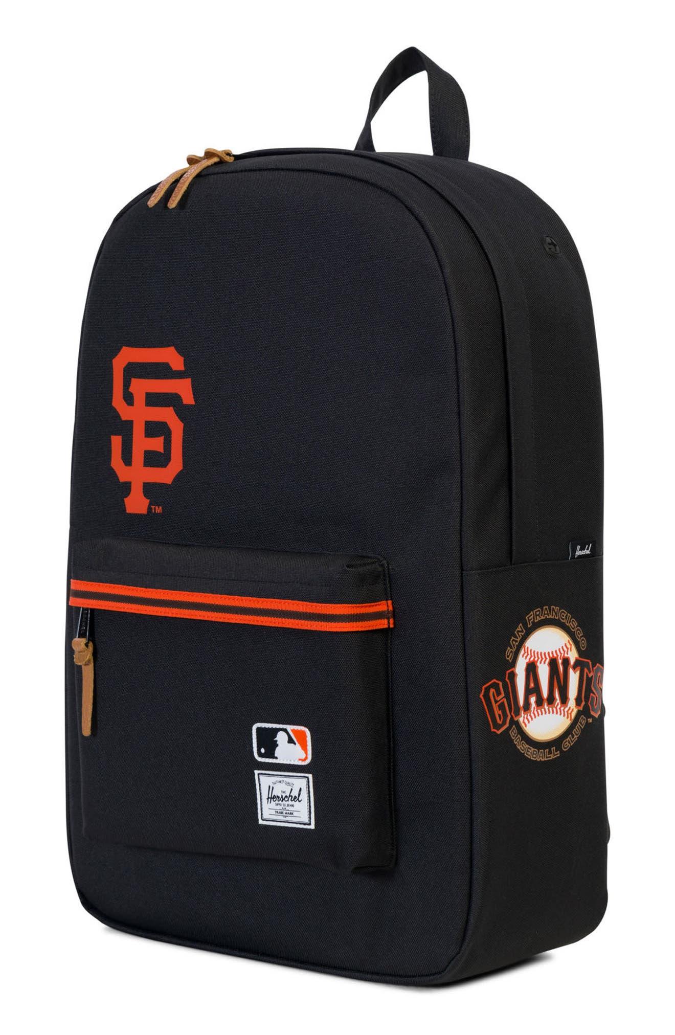 Heritage San Francisco Giants Backpack,                             Alternate thumbnail 4, color,                             008