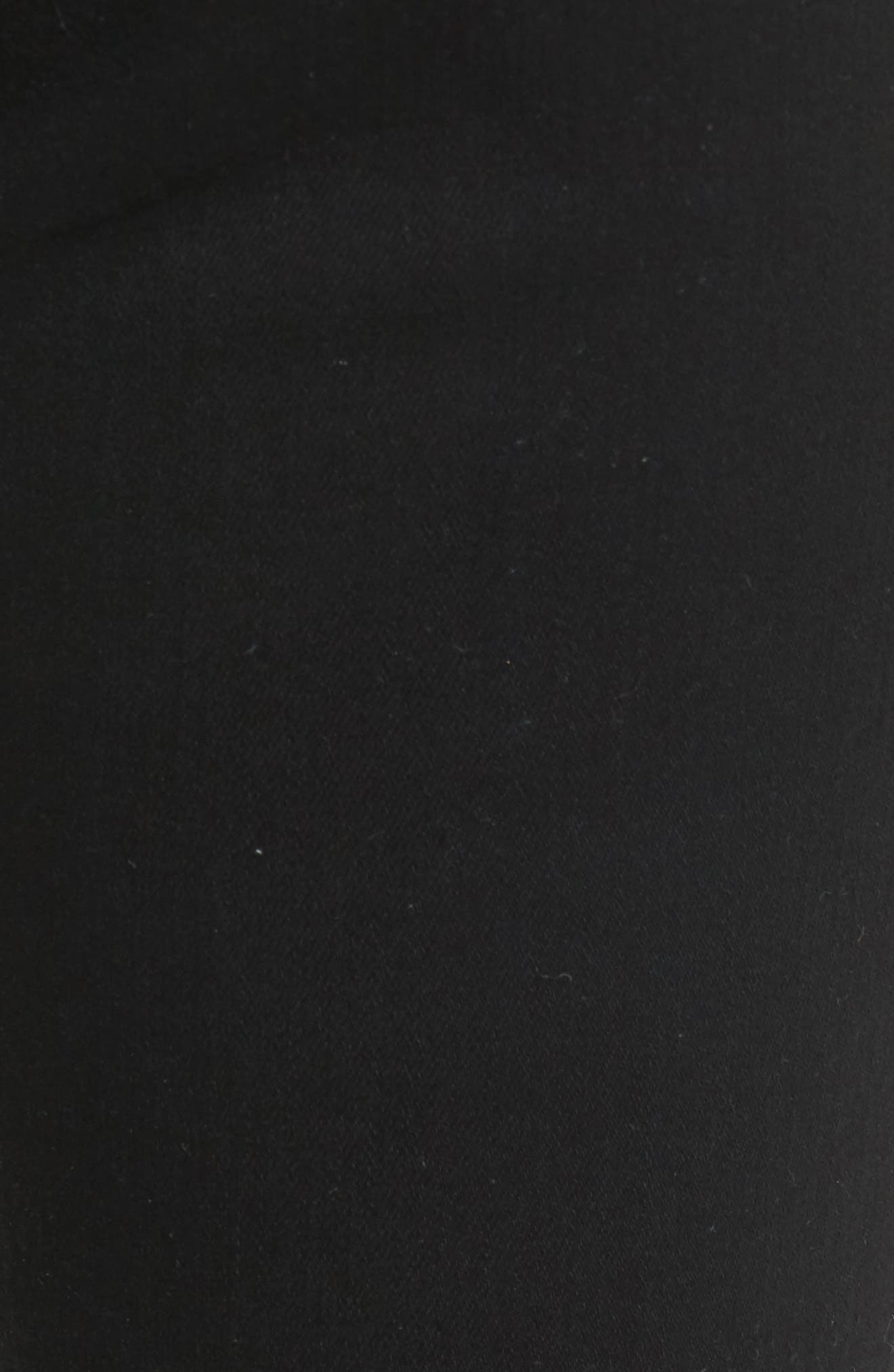 Prima Mid Rise Cigarette Jeans,                             Alternate thumbnail 6, color,                             5 YEARS BLACK DESTRUCTED