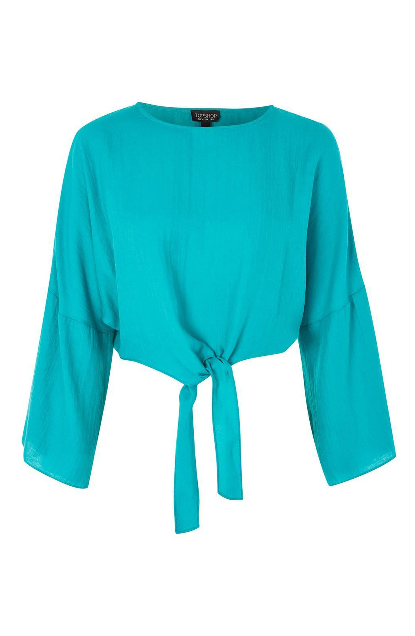 Knot Front Top,                             Alternate thumbnail 3, color,                             440