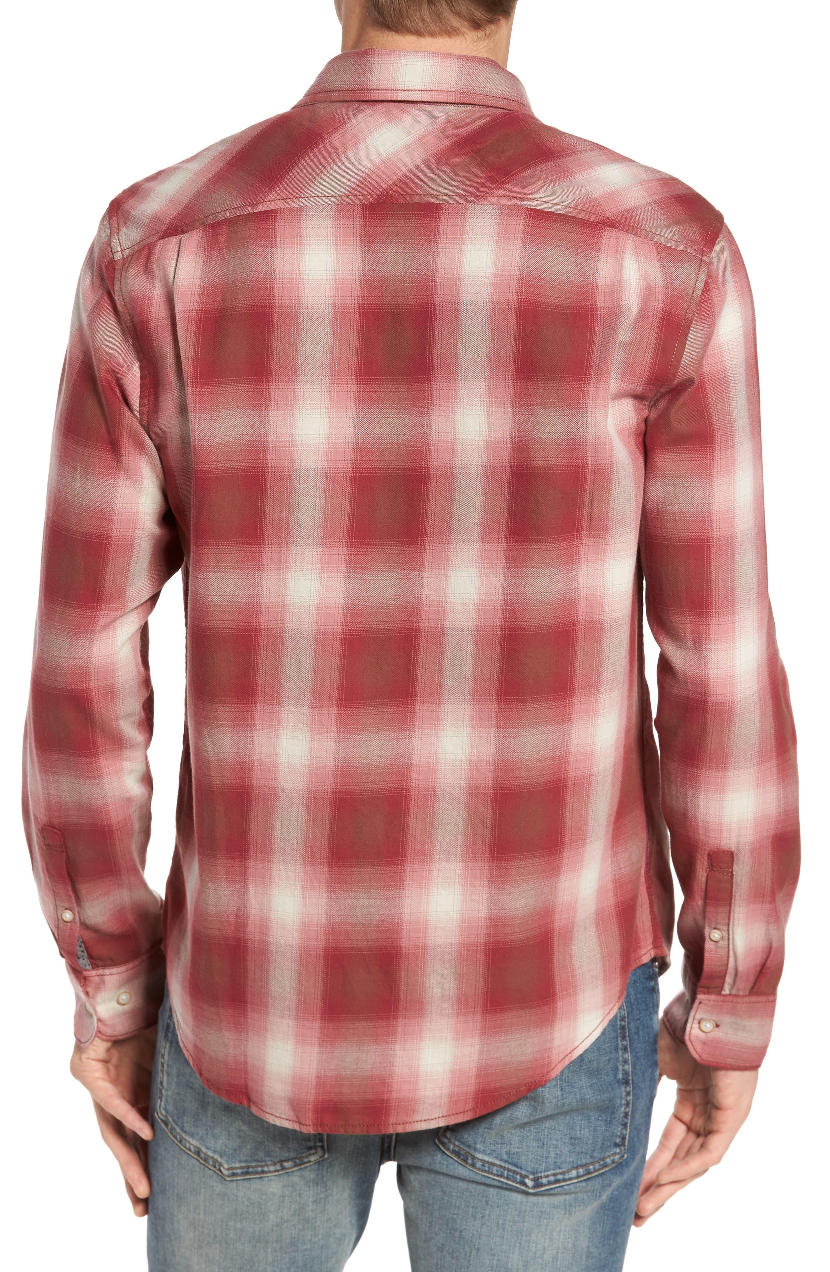 90s Plaid Flannel Shirt,                             Alternate thumbnail 2, color,                             643