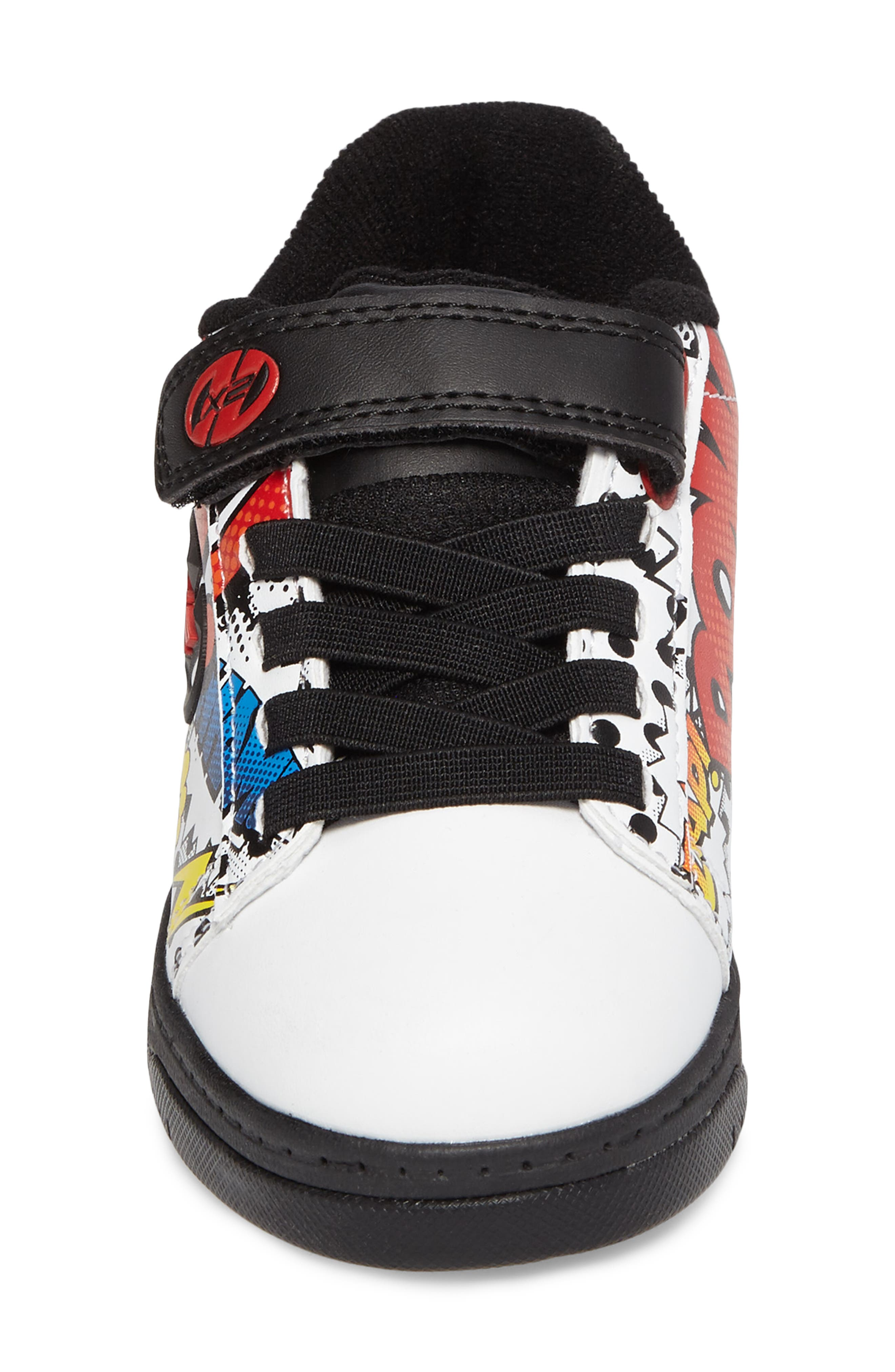 Dual Up X2 Comic Sneaker,                             Alternate thumbnail 4, color,                             WHITE/ BLACK/ MULTI COMIC