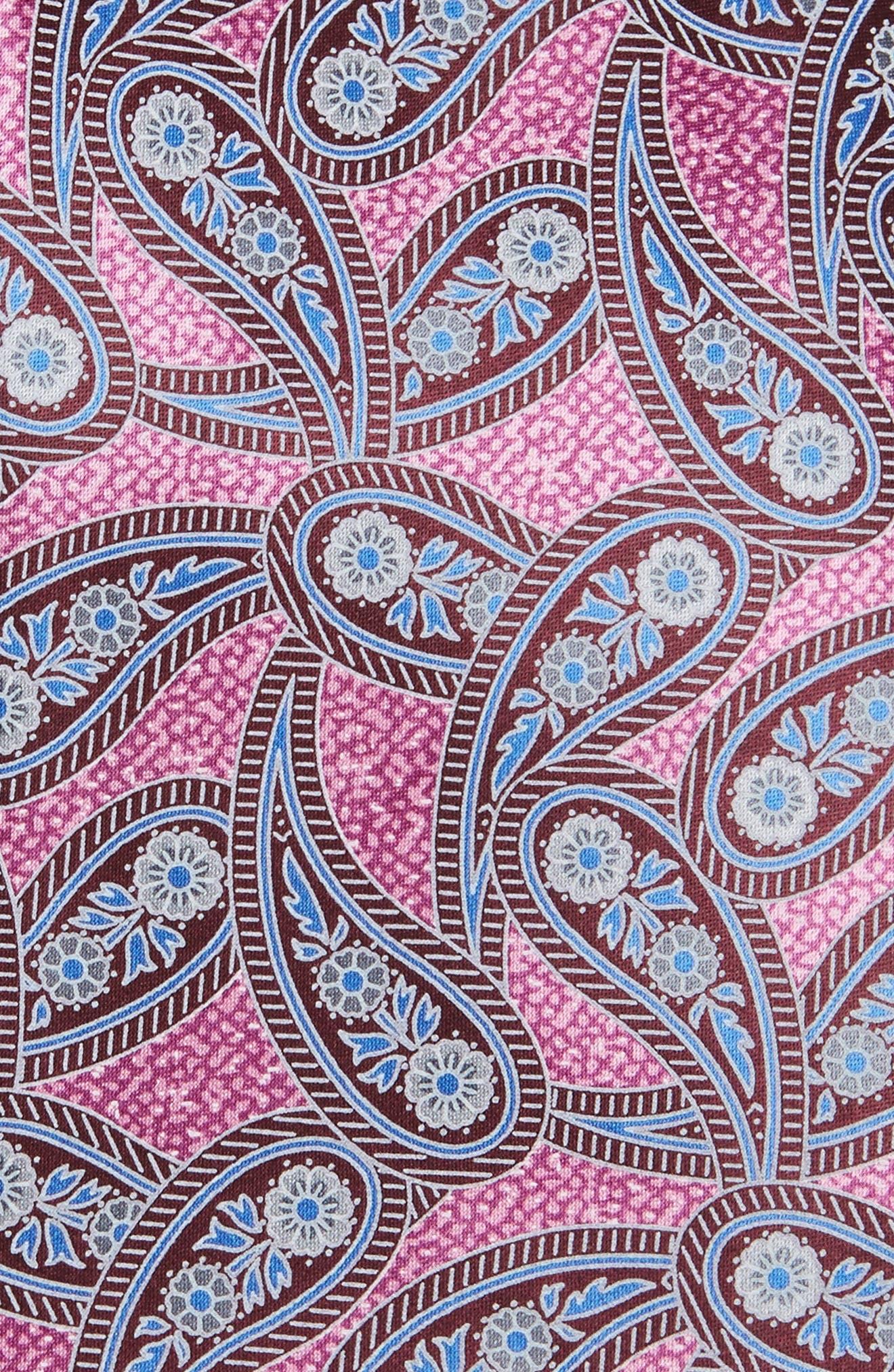 Paisley Silk Tie,                             Alternate thumbnail 6, color,