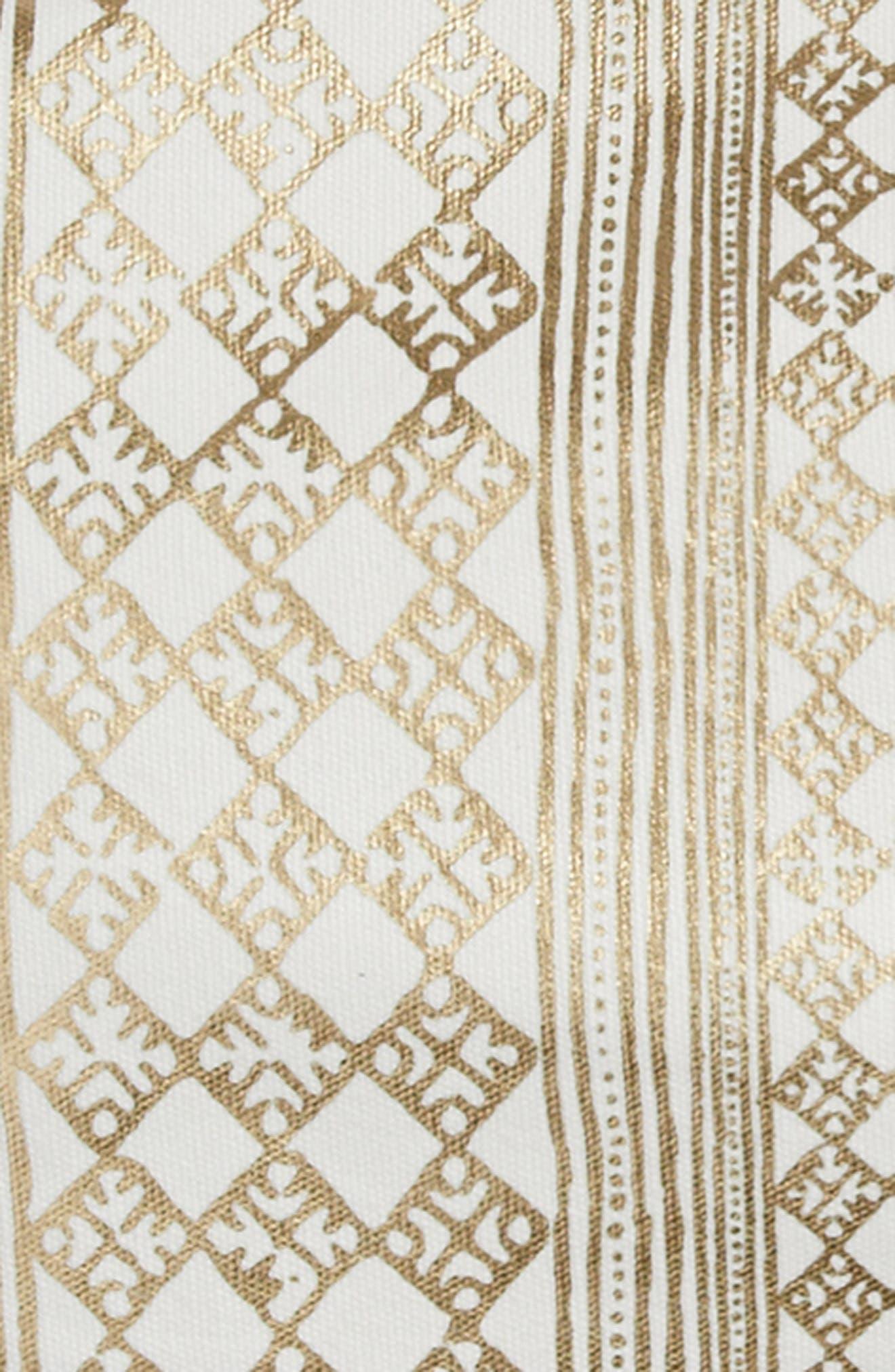 Foil Screenprint Accent Pillow,                             Alternate thumbnail 3, color,                             710
