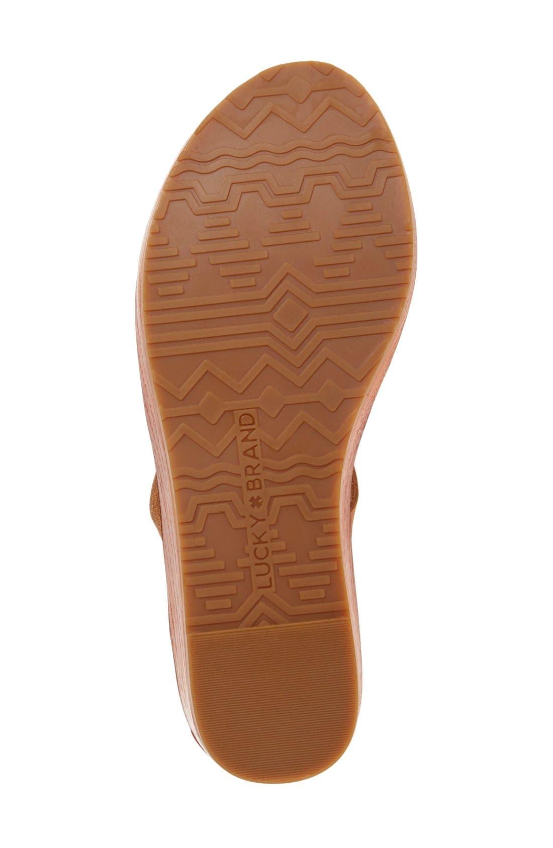 'Honeyy' Platform Sandal,                             Alternate thumbnail 16, color,