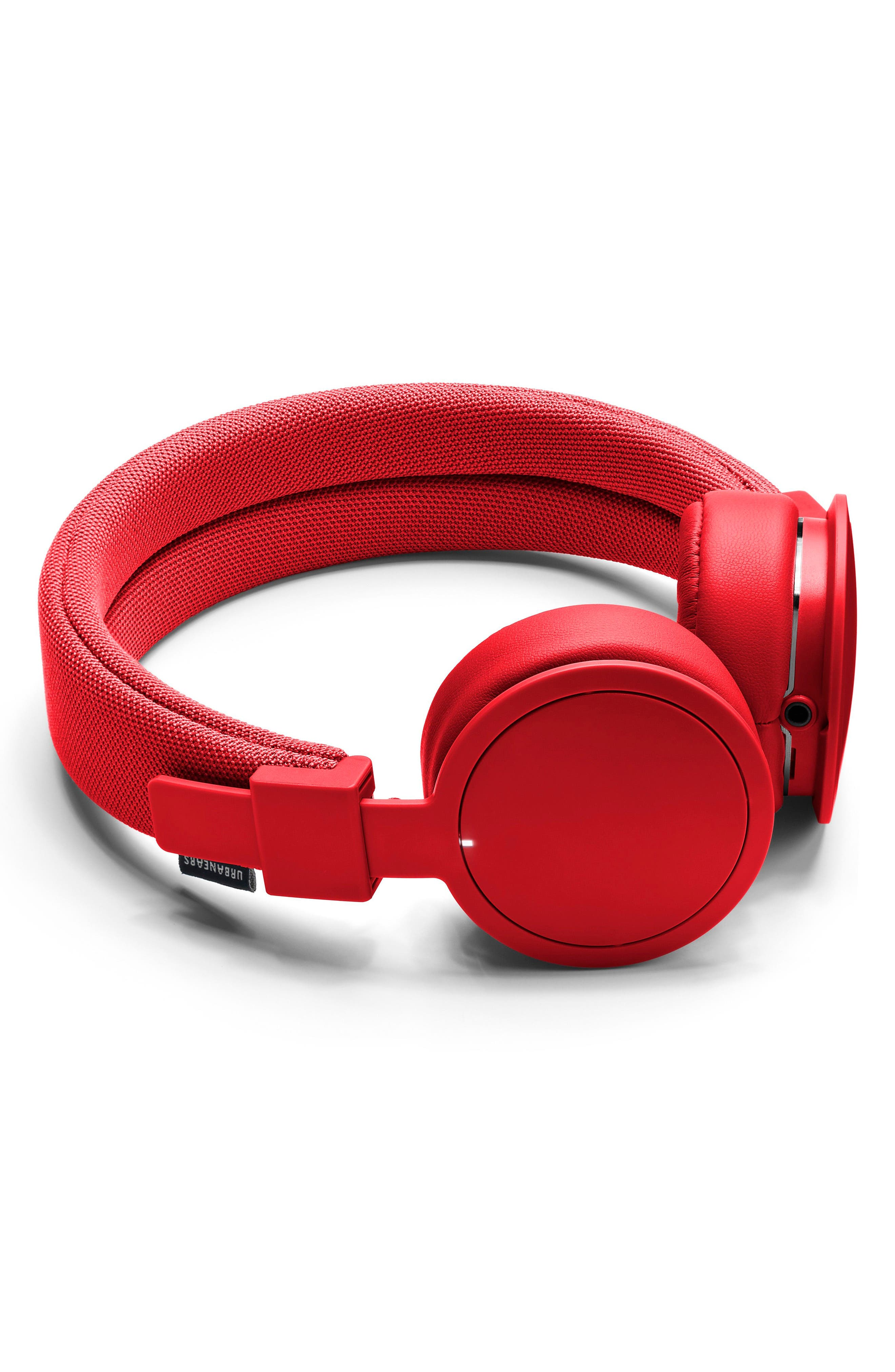 'Plattan ADV Wireless' Bluetooth<sup>®</sup> On-Ear Headphones,                             Alternate thumbnail 4, color,                             TOMATO