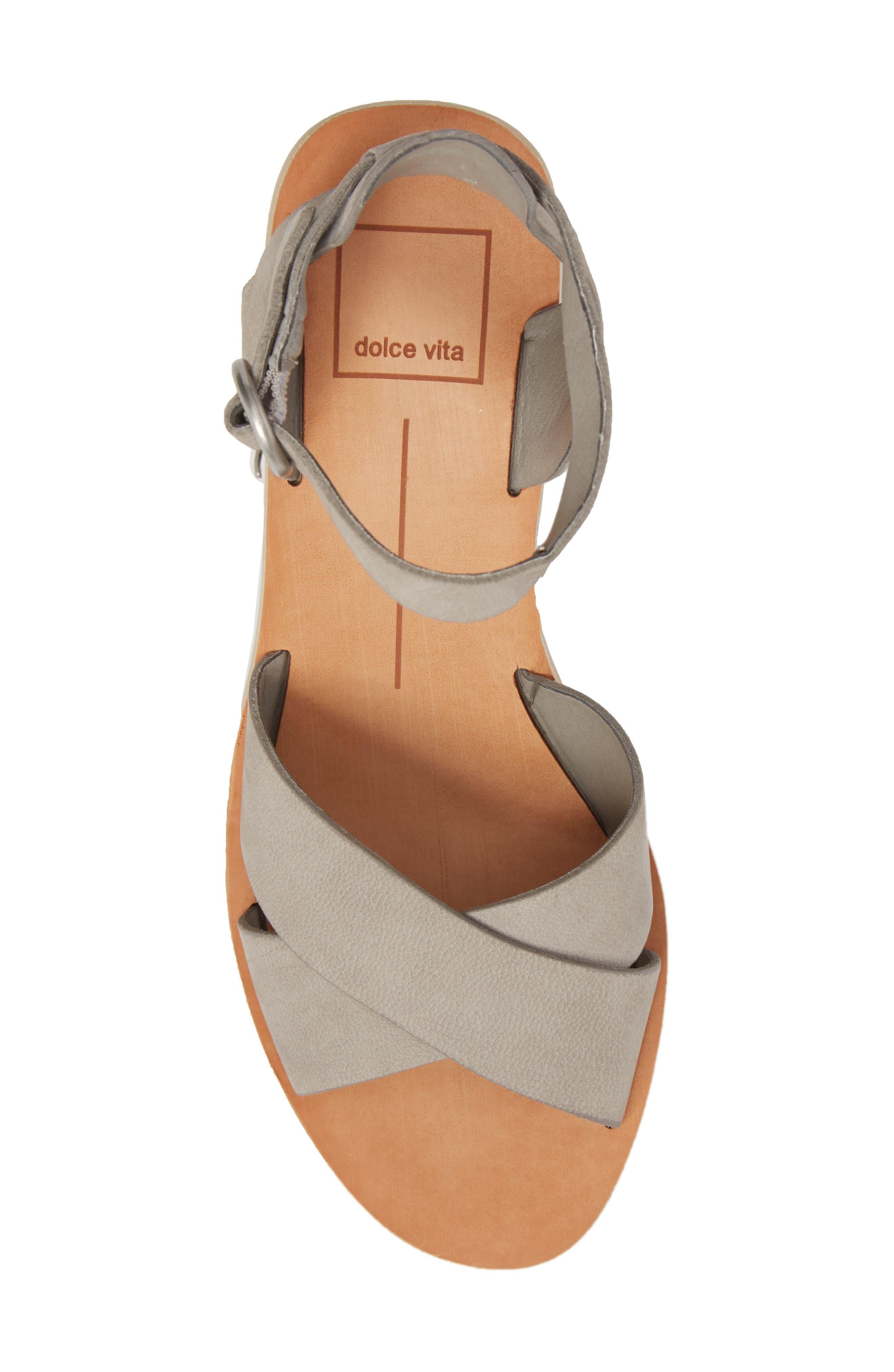 Roman Flared Heel Sandal,                             Alternate thumbnail 9, color,