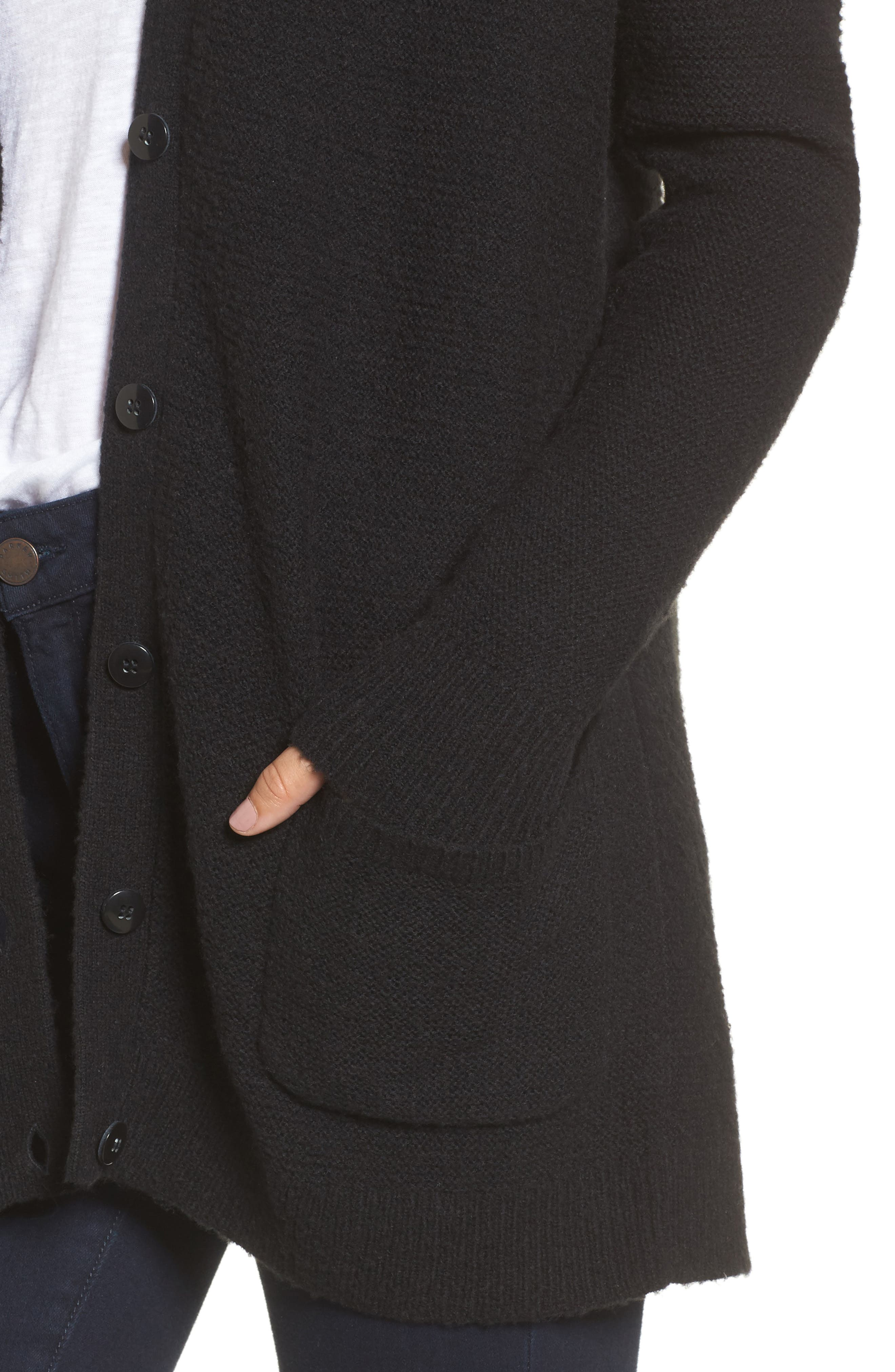 Relaxed Boyfriend Cardigan,                             Alternate thumbnail 25, color,
