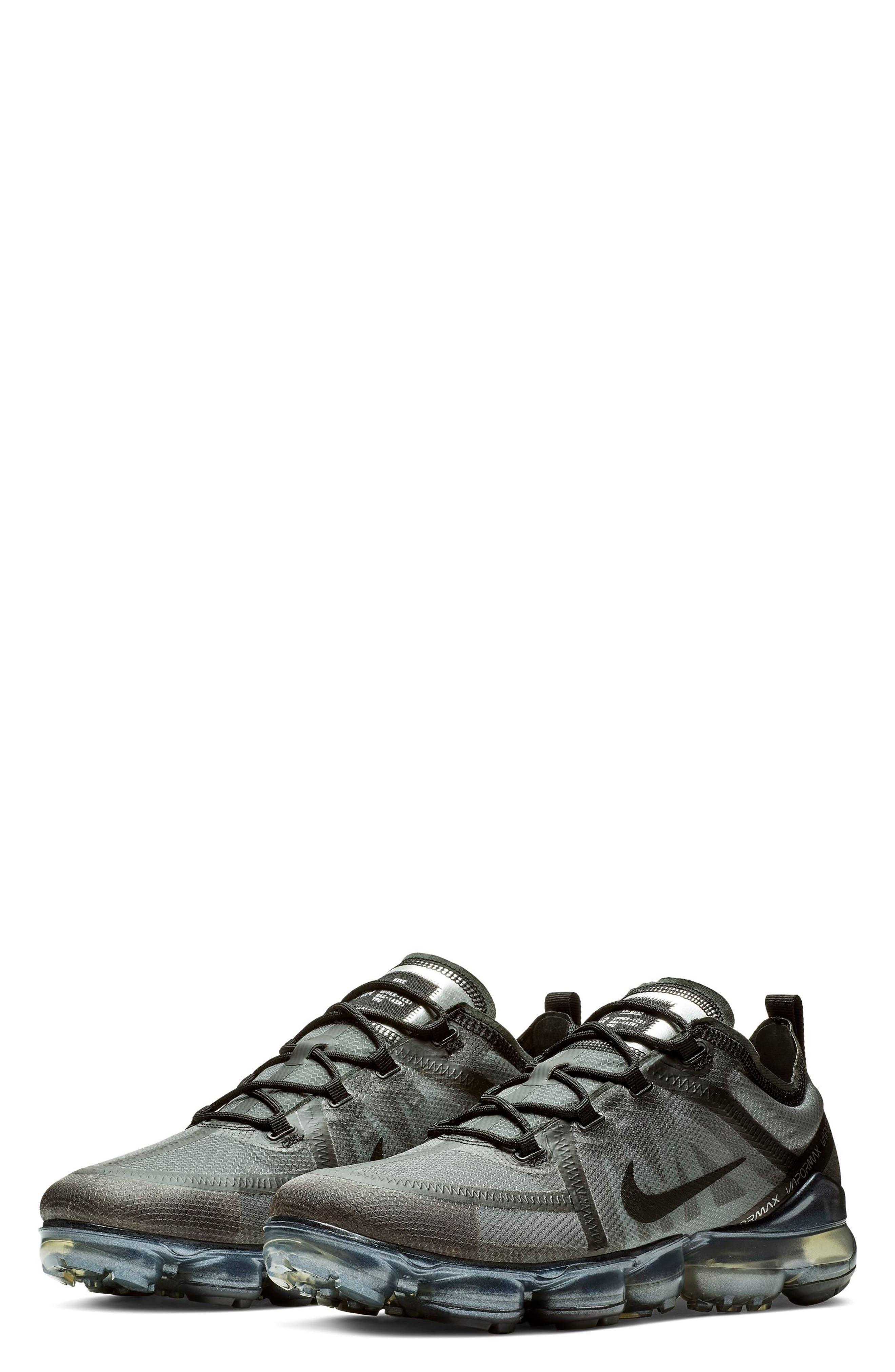 Air VaporMax 2019 Running Shoe,                             Main thumbnail 1, color,                             BLACK/ BLACK/ BLACK