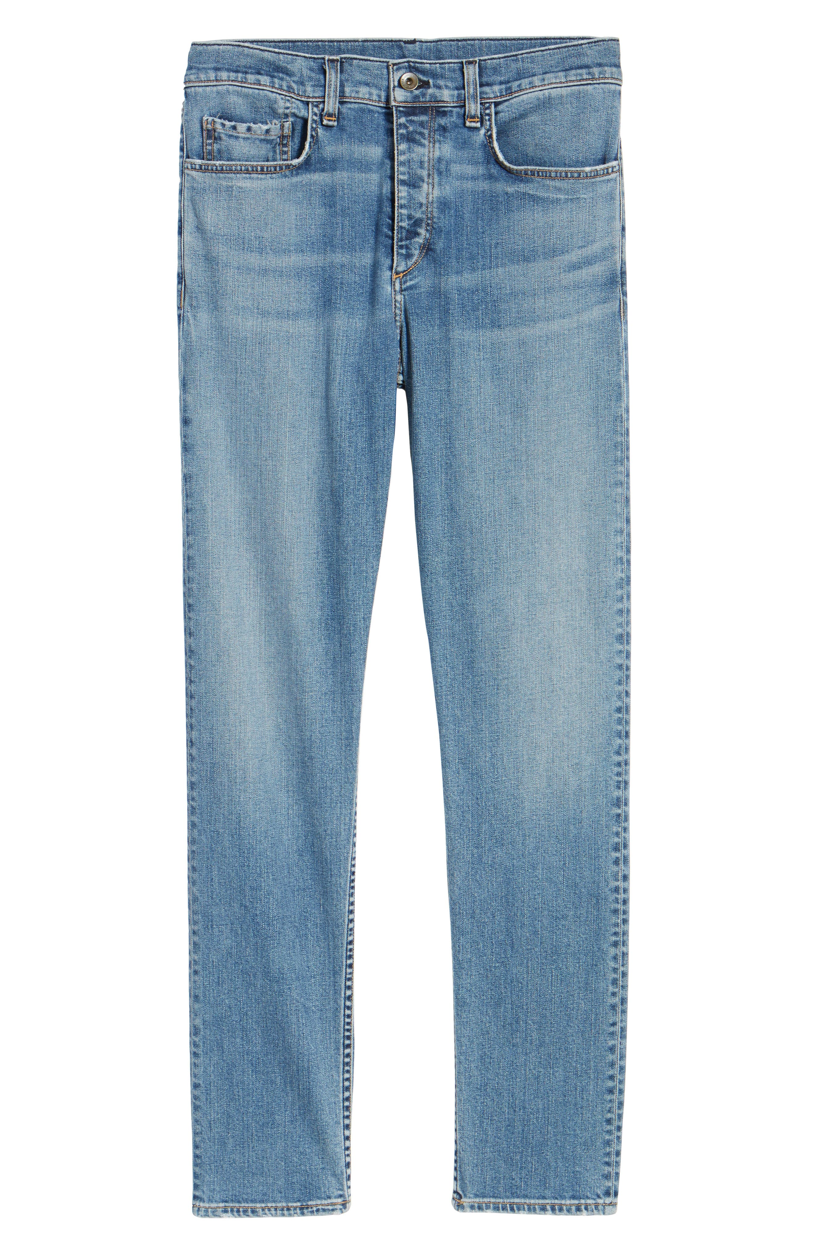 Fit 2 Slim Fit Jeans,                             Alternate thumbnail 6, color,                             DARK KINGSTON
