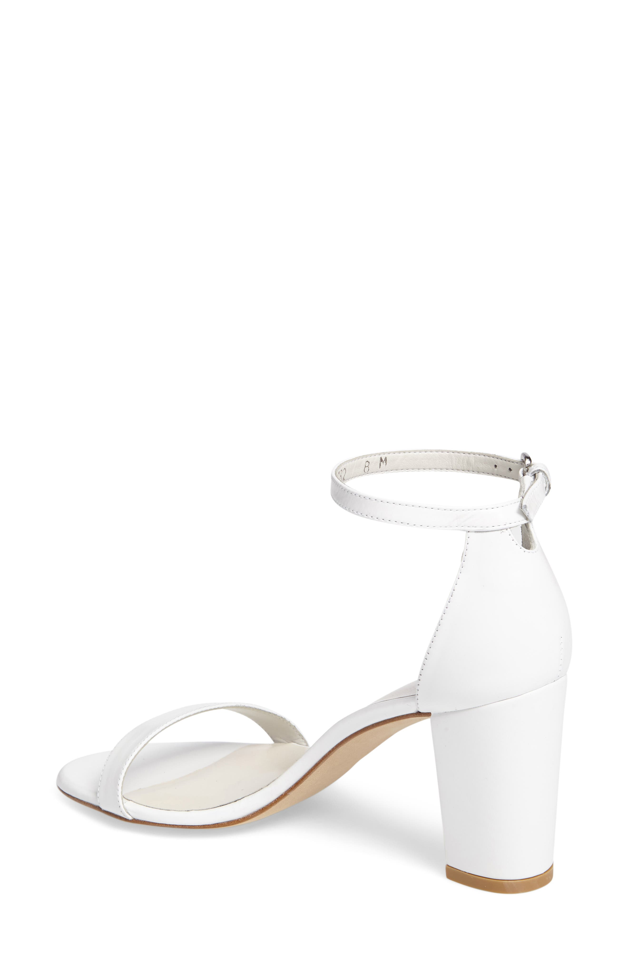 NearlyNude Ankle Strap Sandal,                             Alternate thumbnail 42, color,