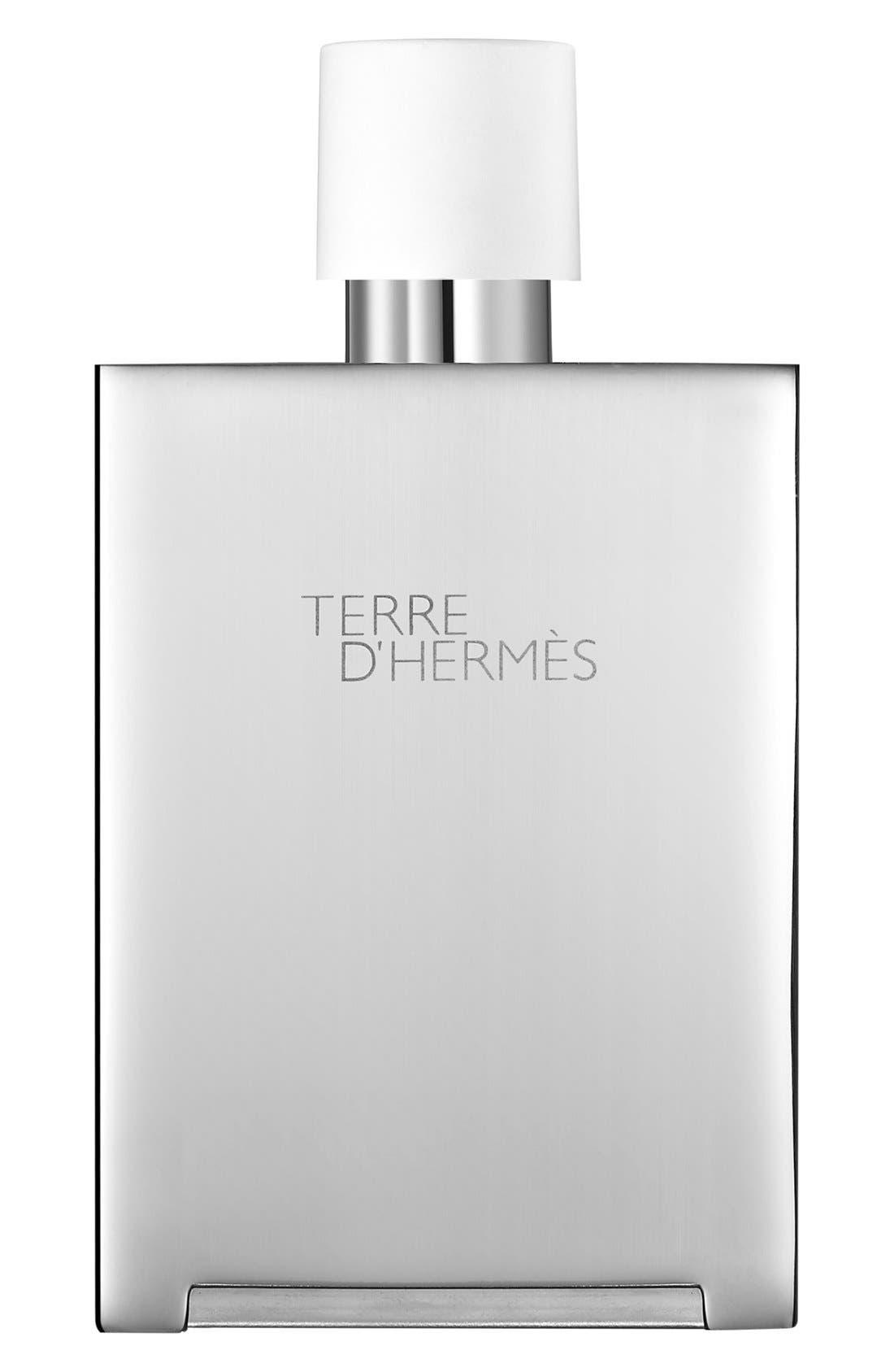Terre d'Hermès - Eau très fraîche Bel Objet refillable metal spray,                             Main thumbnail 1, color,                             000