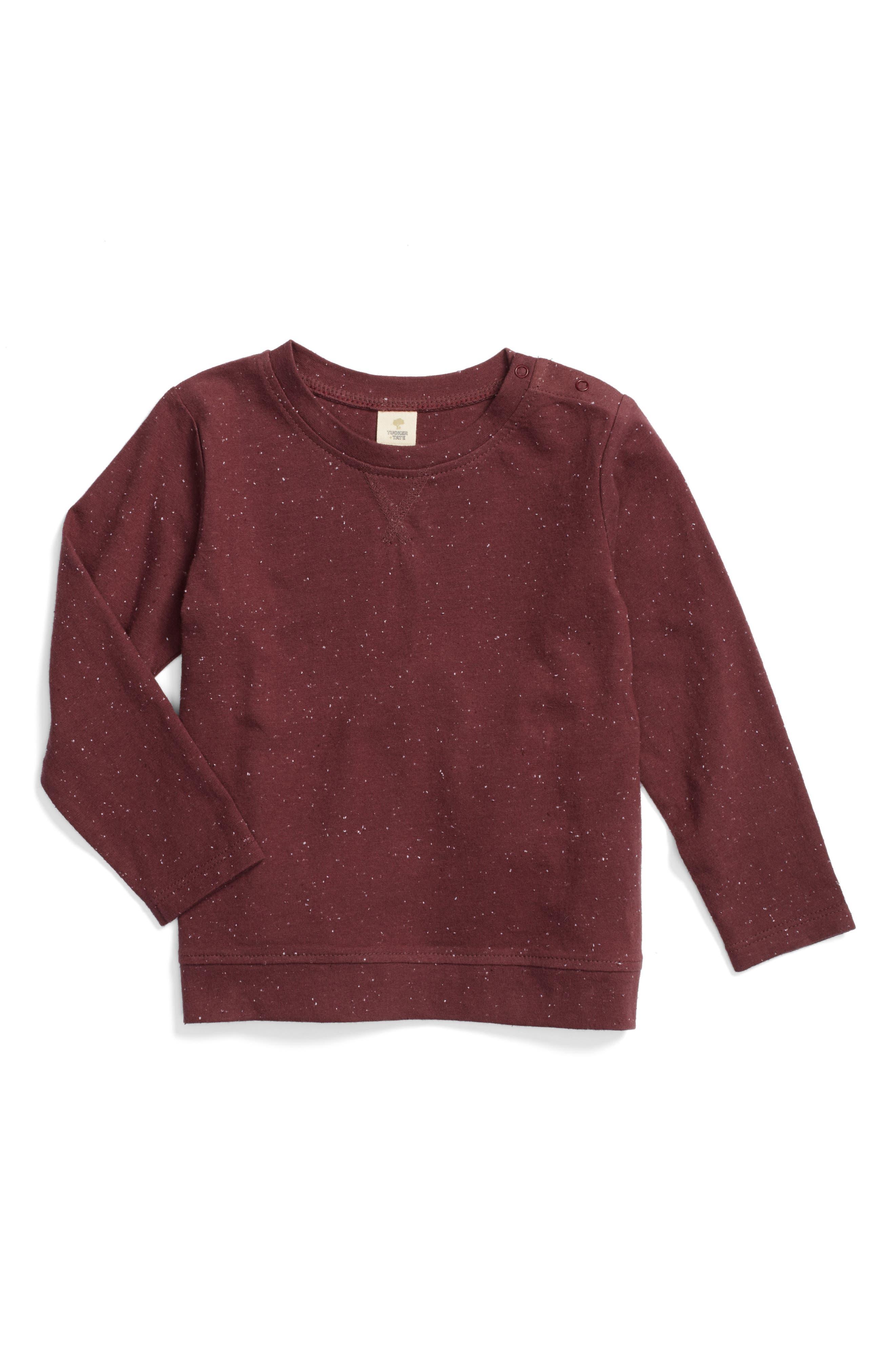 Essential Long Sleeve T-Shirt,                             Main thumbnail 2, color,