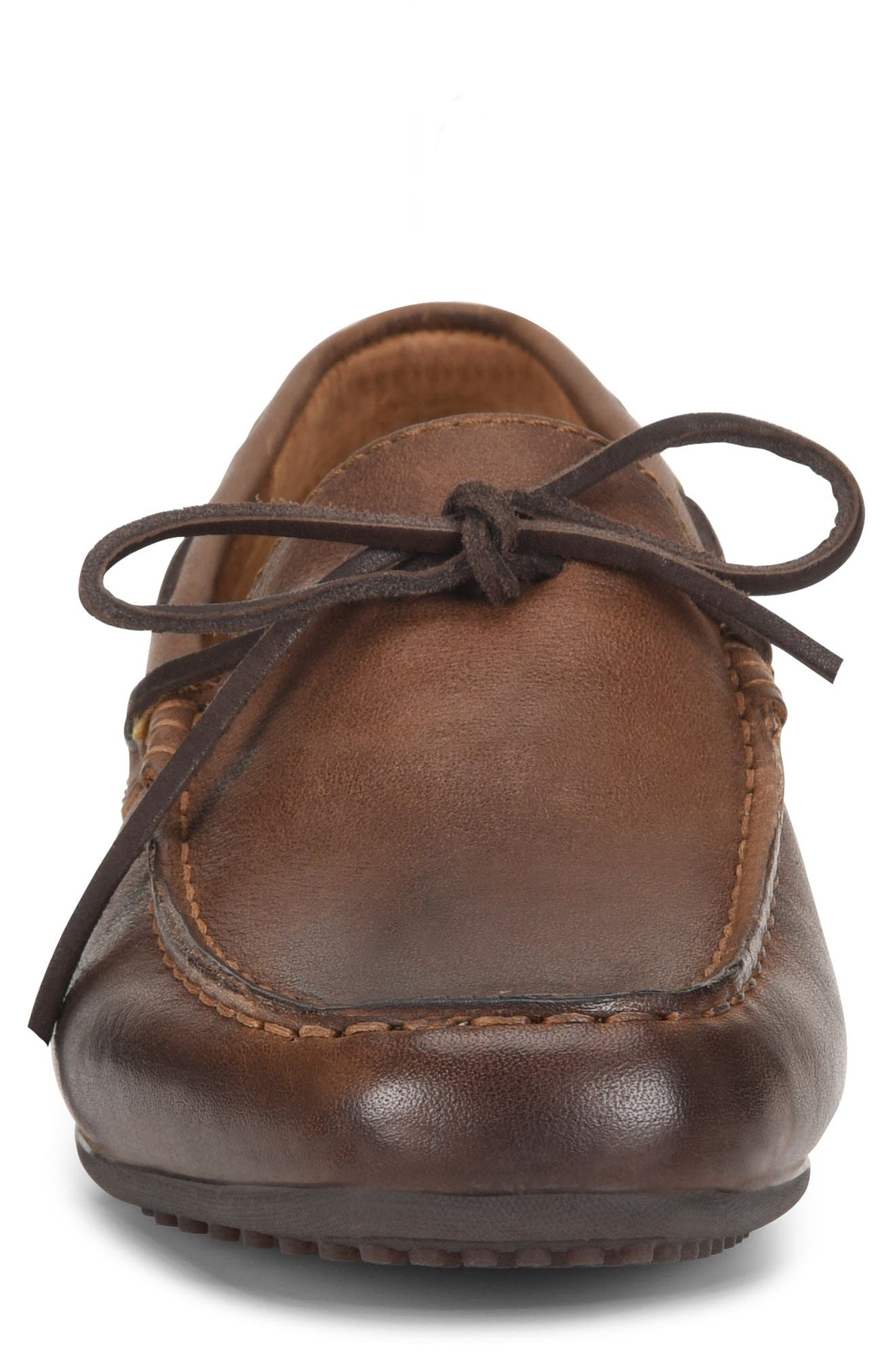 Virgo Driving Shoe,                             Alternate thumbnail 4, color,                             BROWN/BROWN LEATHER