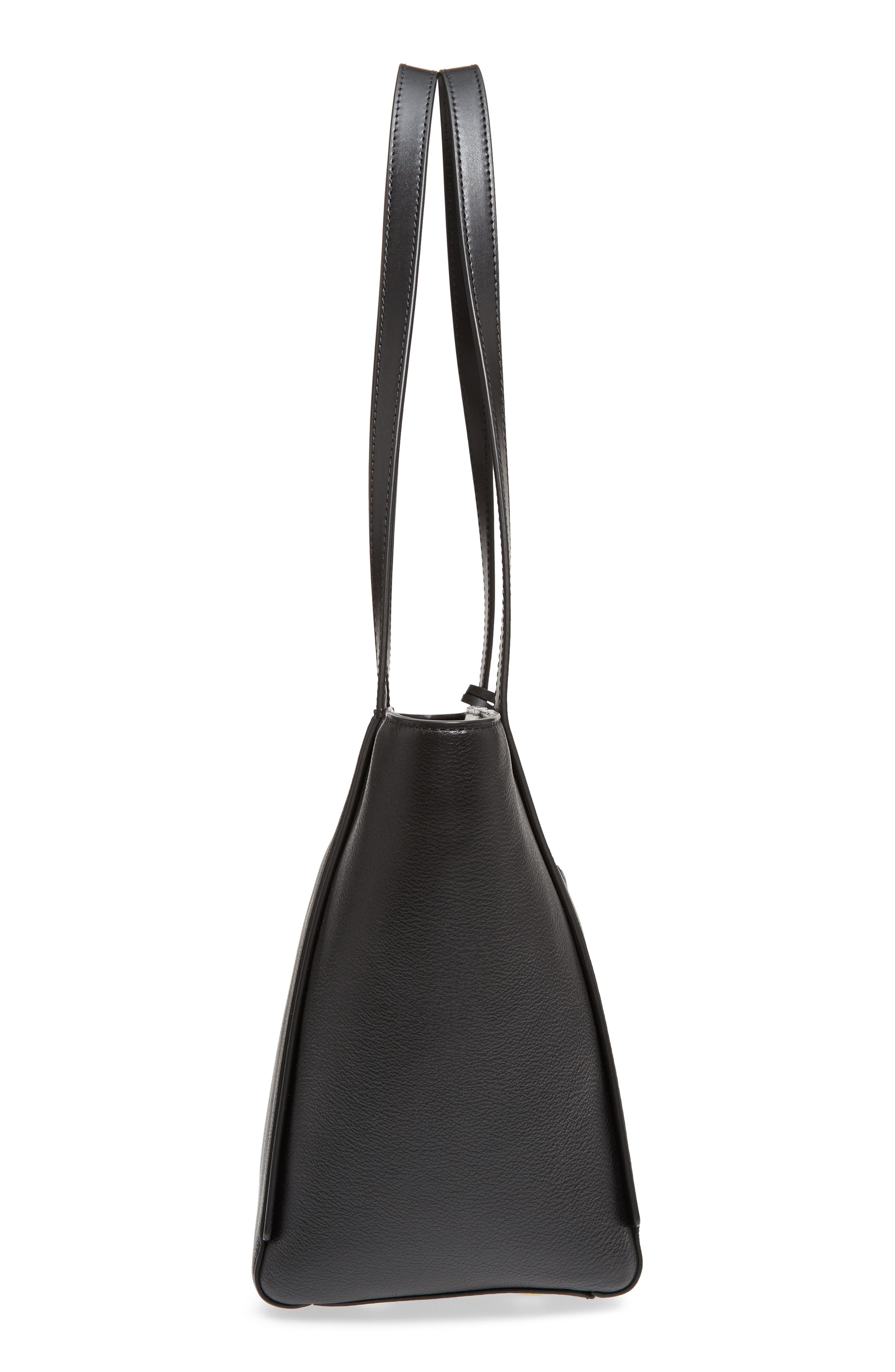 Small Whitney Leather Tote,                             Alternate thumbnail 18, color,
