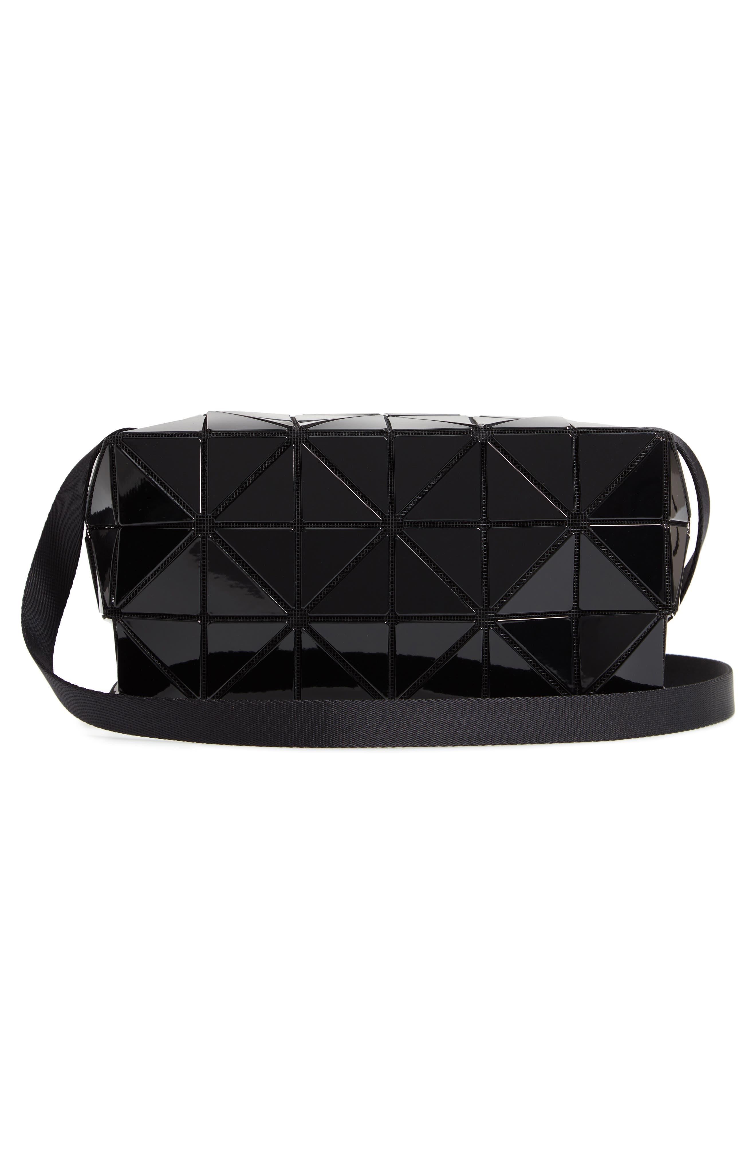 Carton Crossbody Bag,                             Alternate thumbnail 3, color,                             BLACK