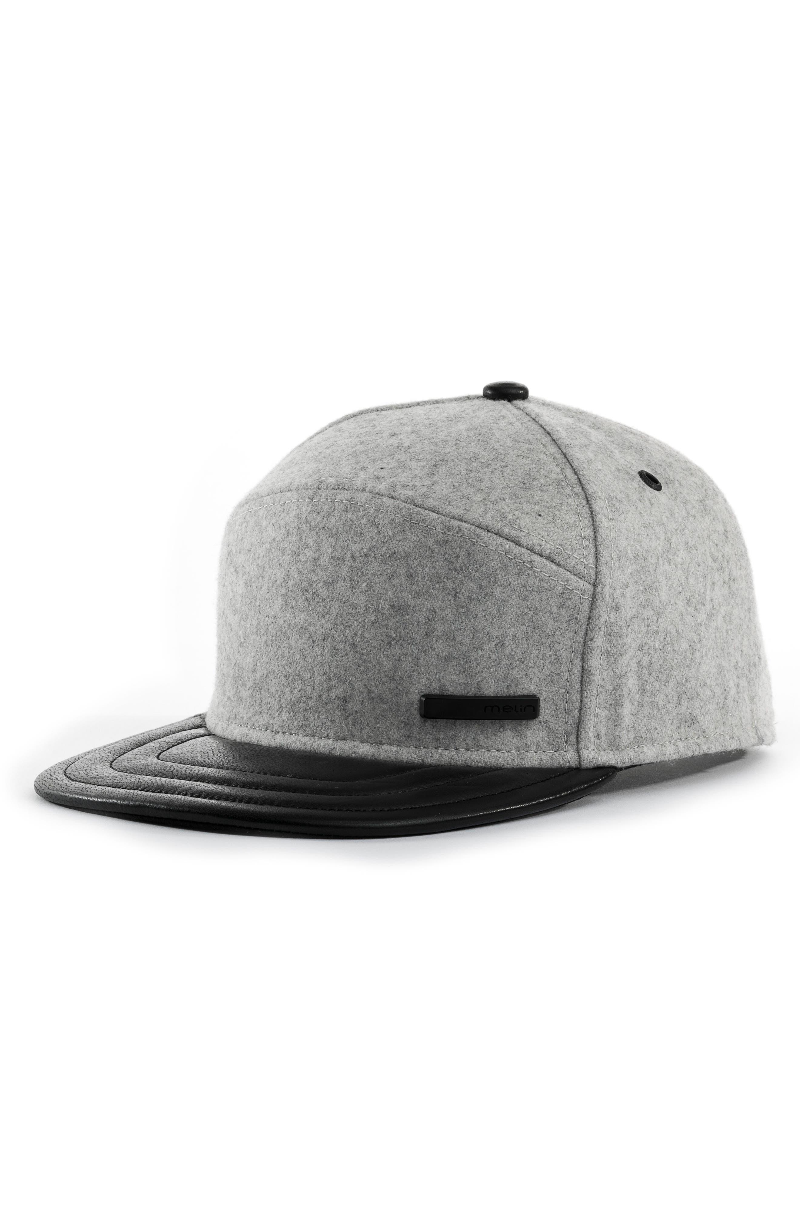 MELIN Mini Bar Deluxe Baseball Cap, Main, color, LIGHT HEATHER GREY