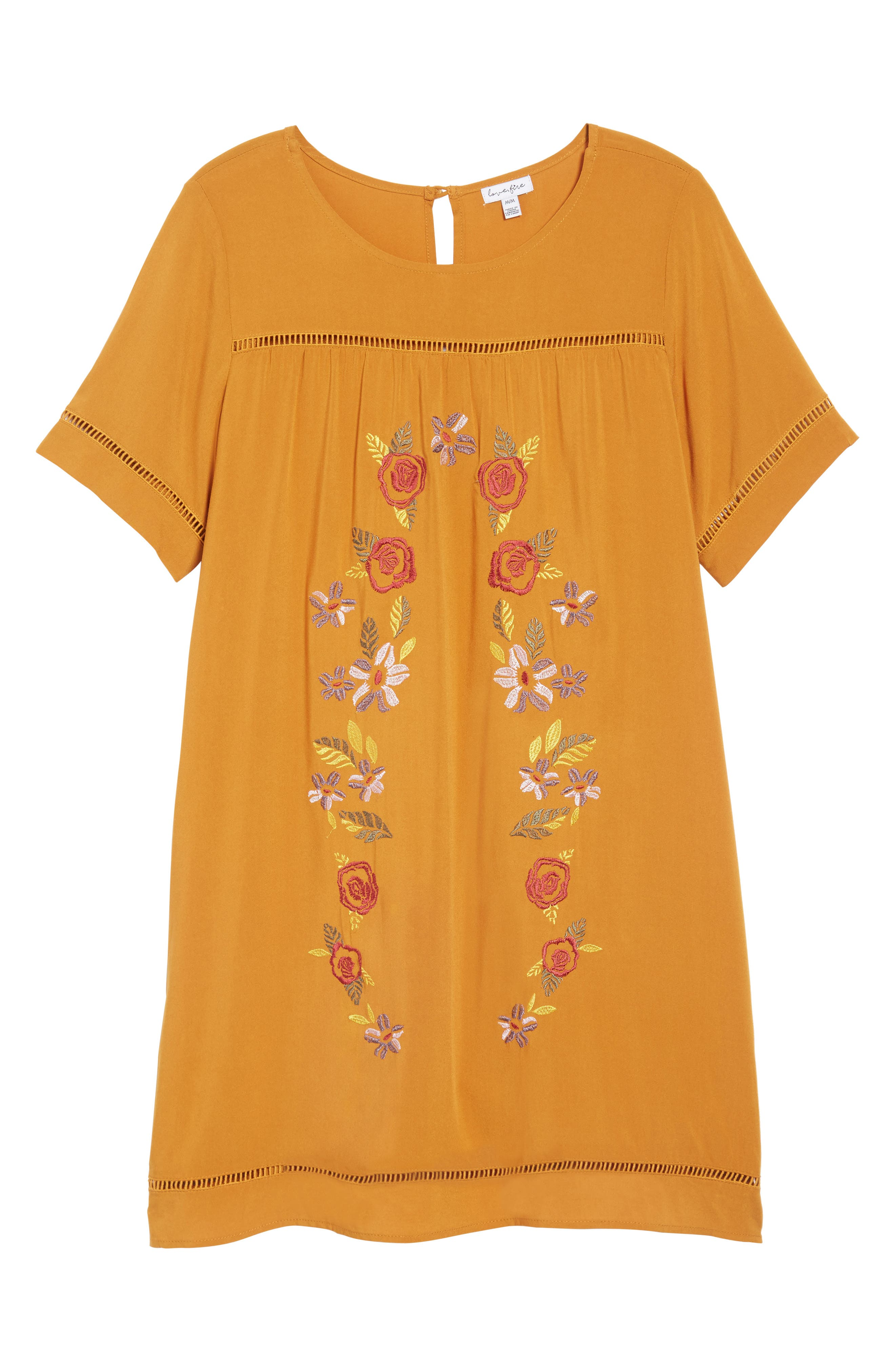 Embroidered Dress,                             Alternate thumbnail 6, color,                             201