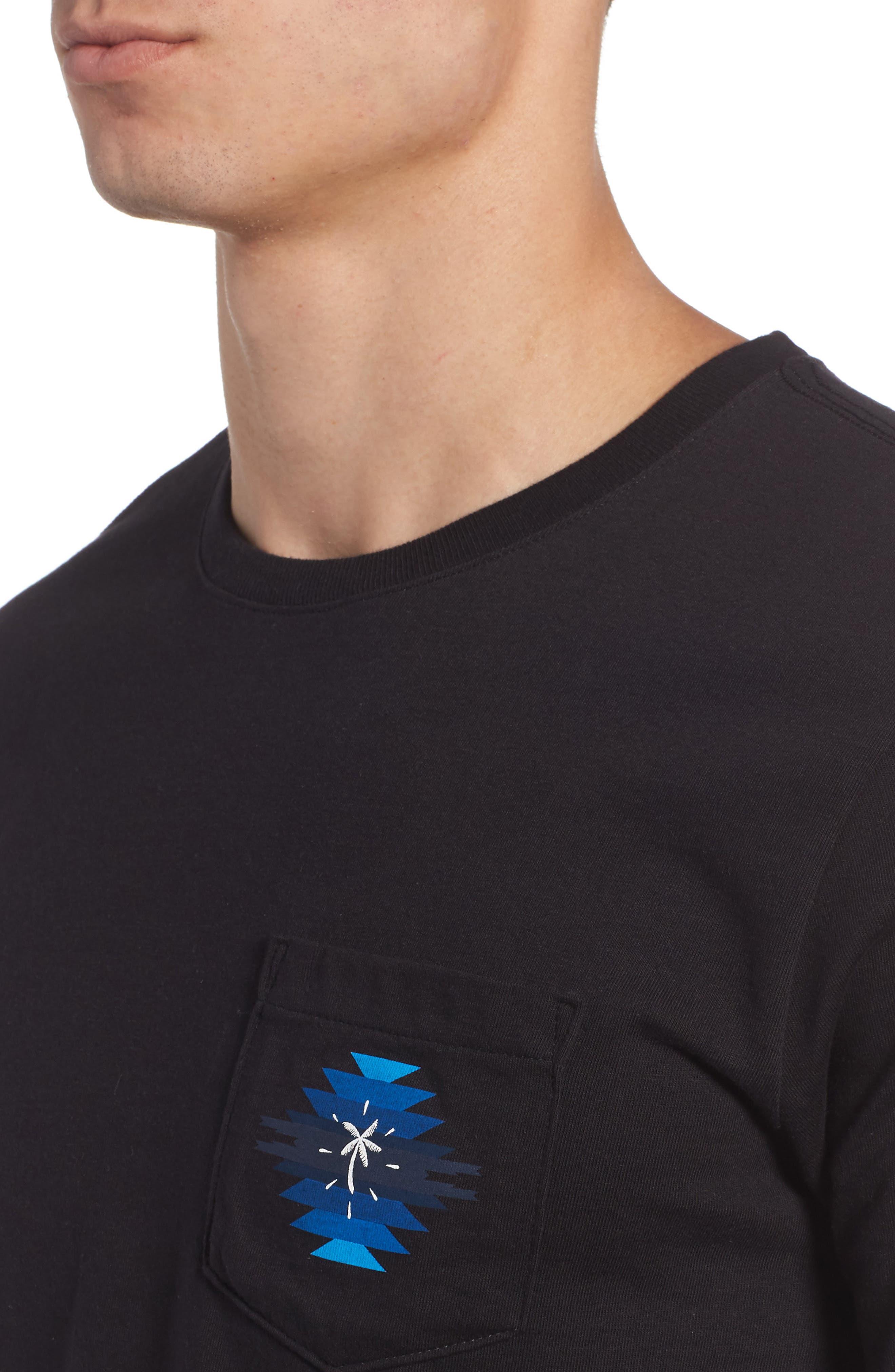 x Pendleton Pocket T-Shirt,                             Alternate thumbnail 4, color,                             010