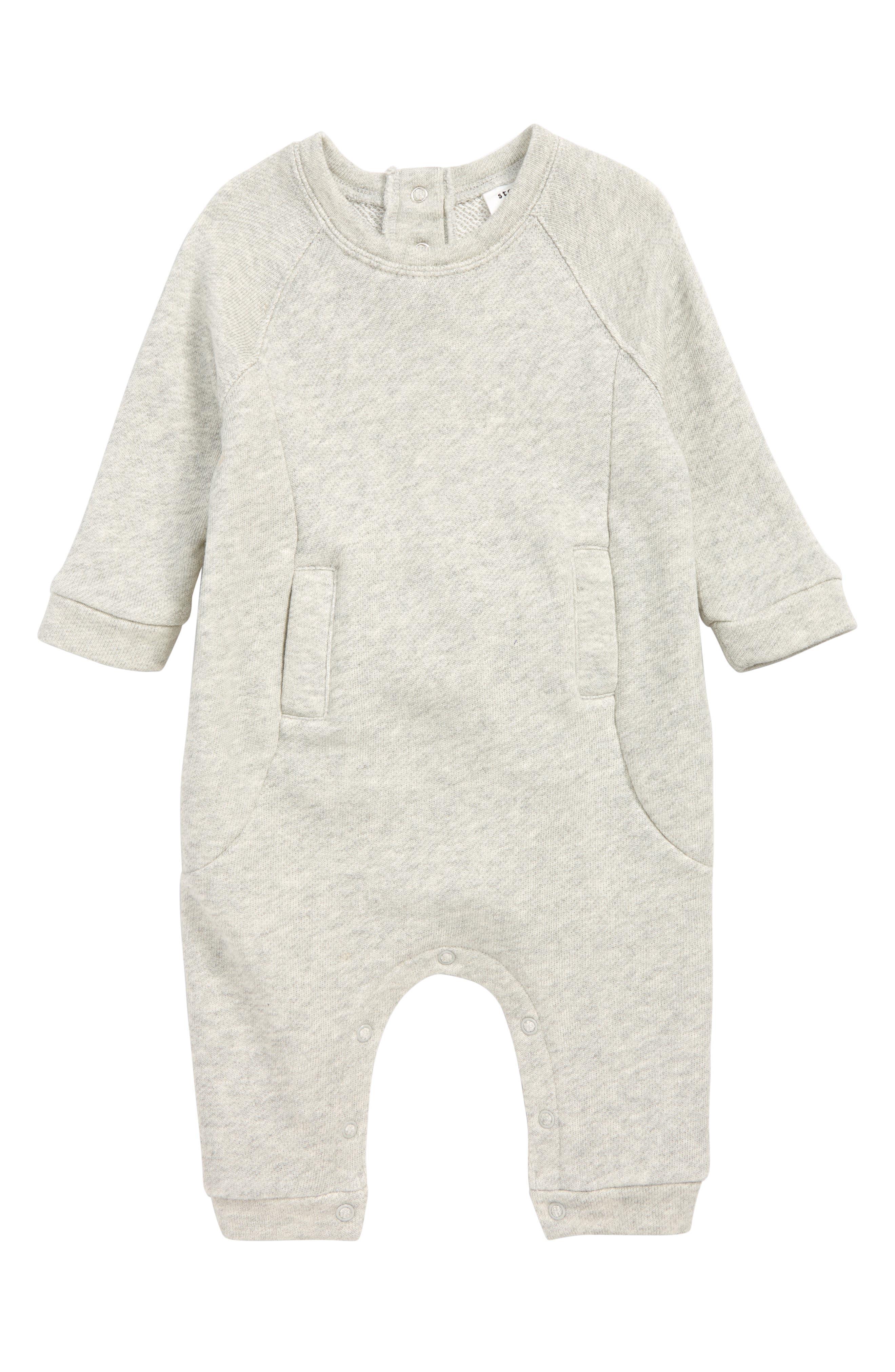 Infant Boys Stem Textured Romper