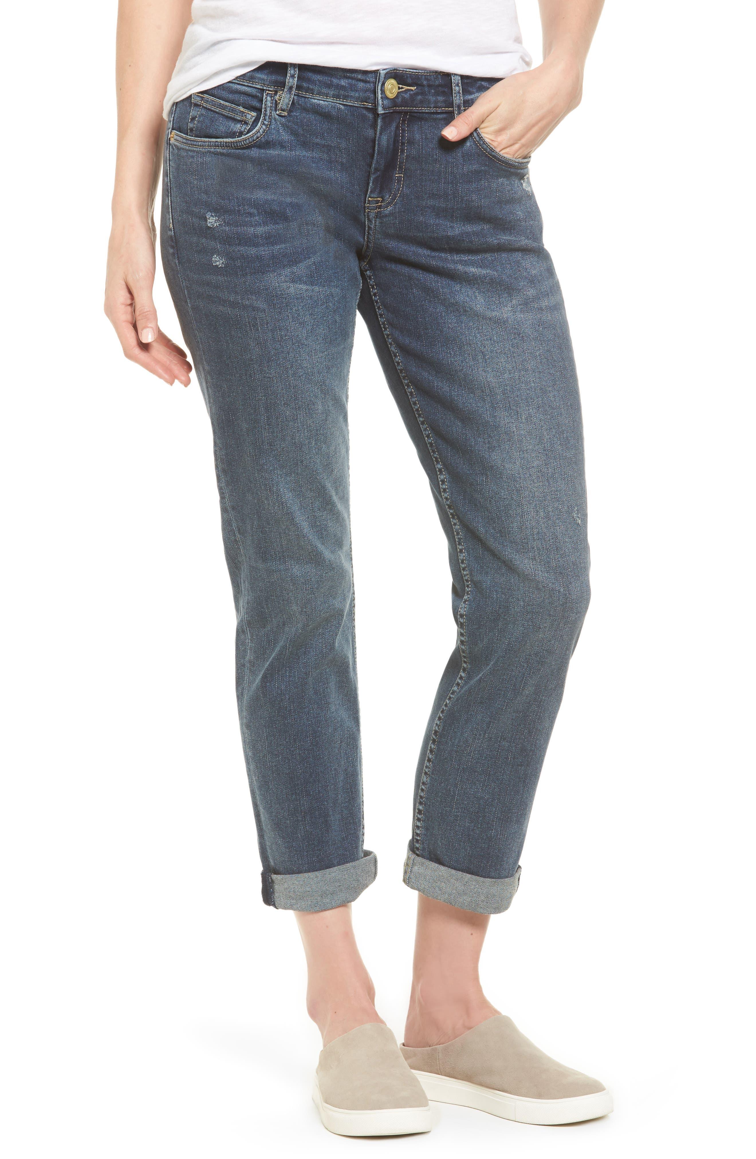 Tema Slim Boyfriend Jeans,                         Main,                         color,