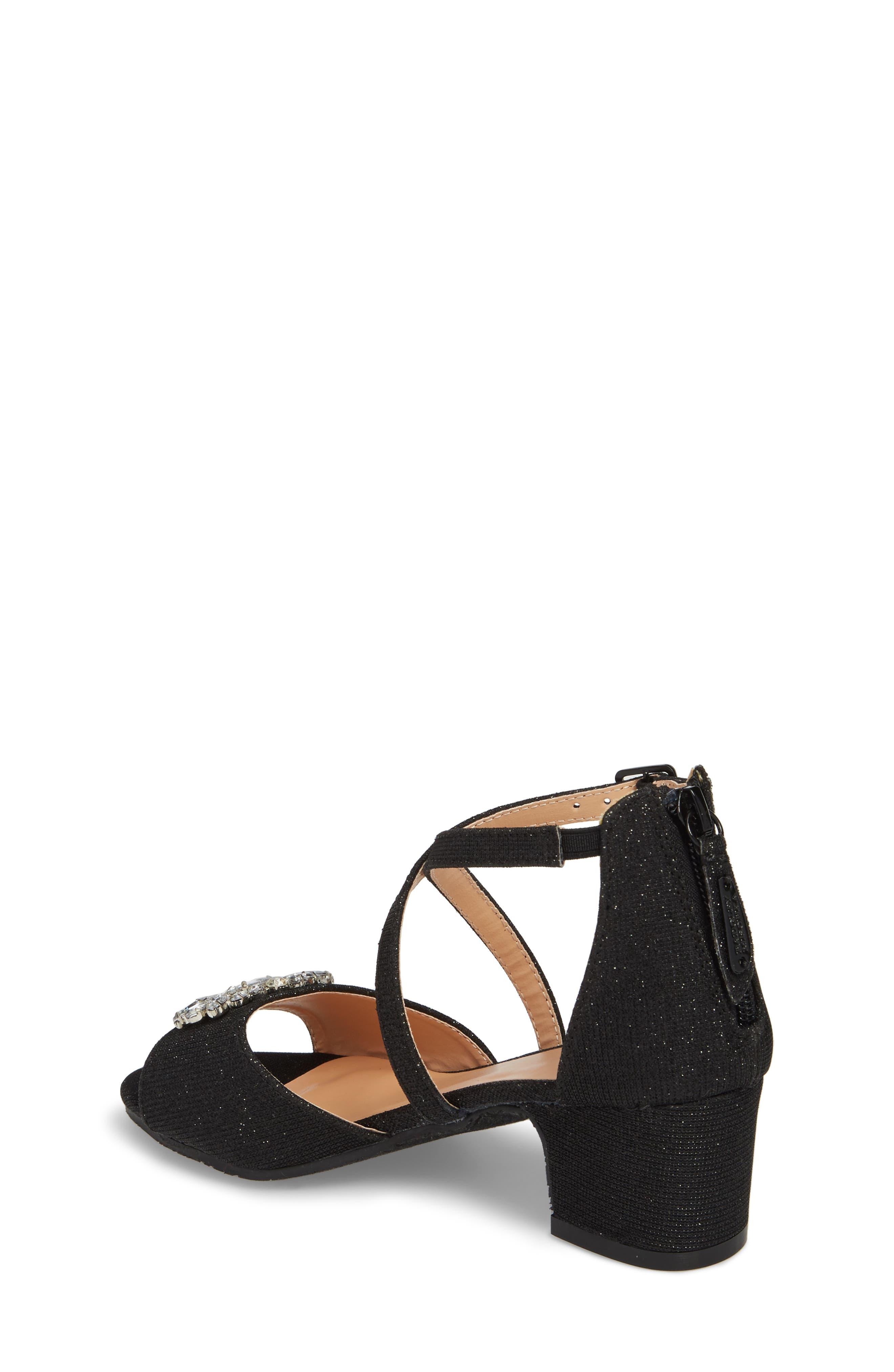 Pernia Gems Sandal,                             Alternate thumbnail 2, color,                             BLACK