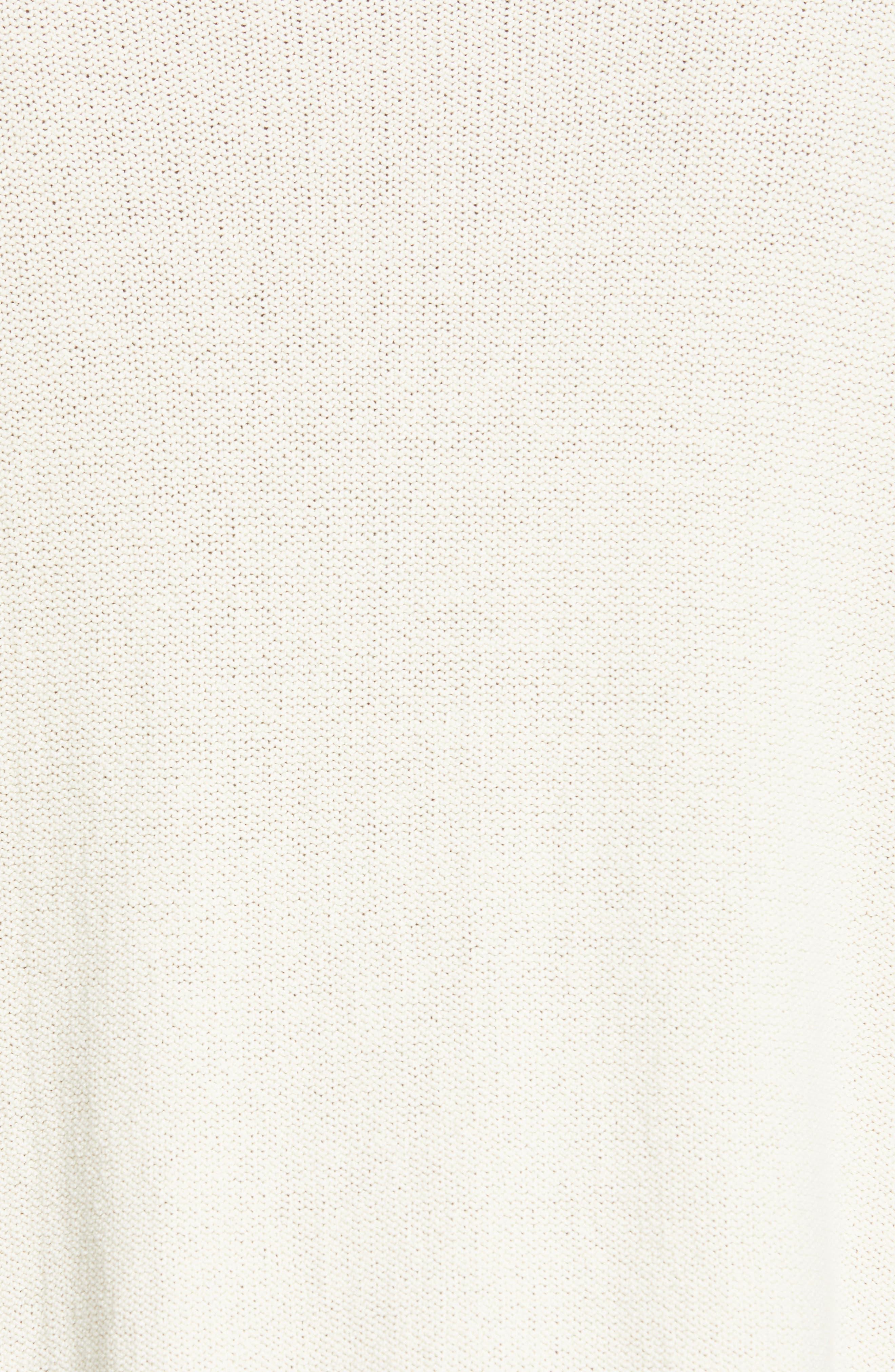 Logo Sweater,                             Alternate thumbnail 5, color,                             OFF WHITE