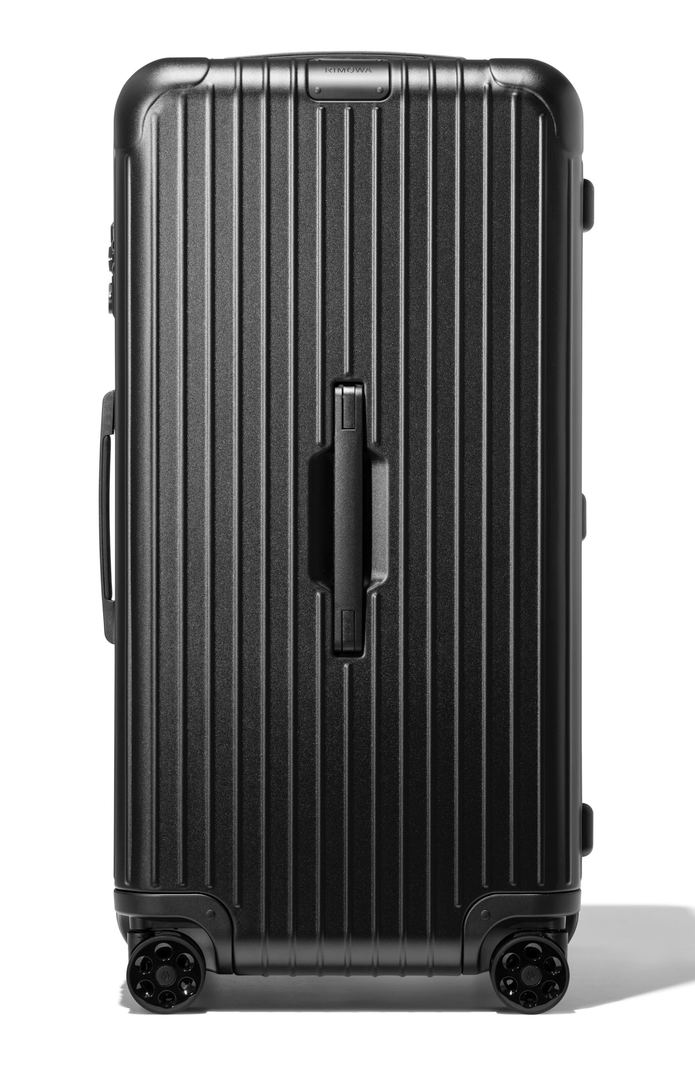 Essential Trunk Plus 32-Inch Packing Case,                             Main thumbnail 1, color,                             MATTE BLACK
