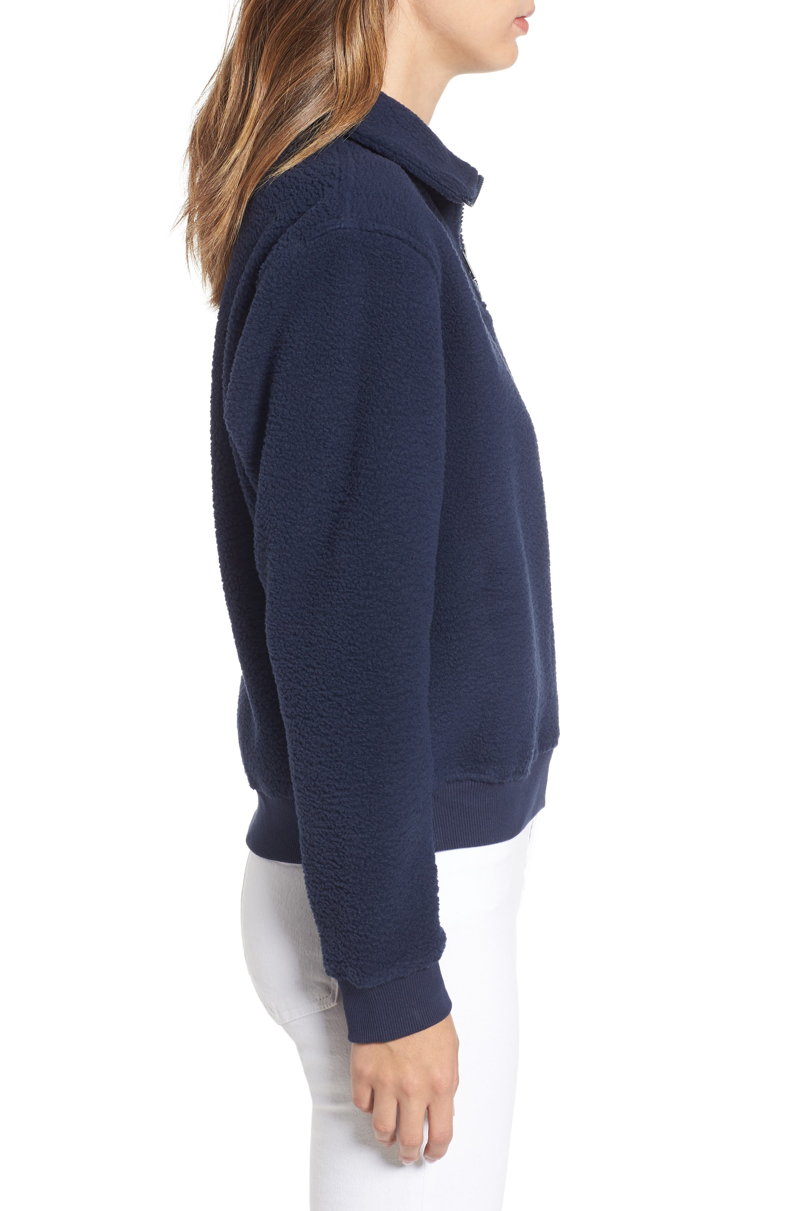 TJW Classics Polar Fleece Sweatshirt,                             Alternate thumbnail 3, color,                             002