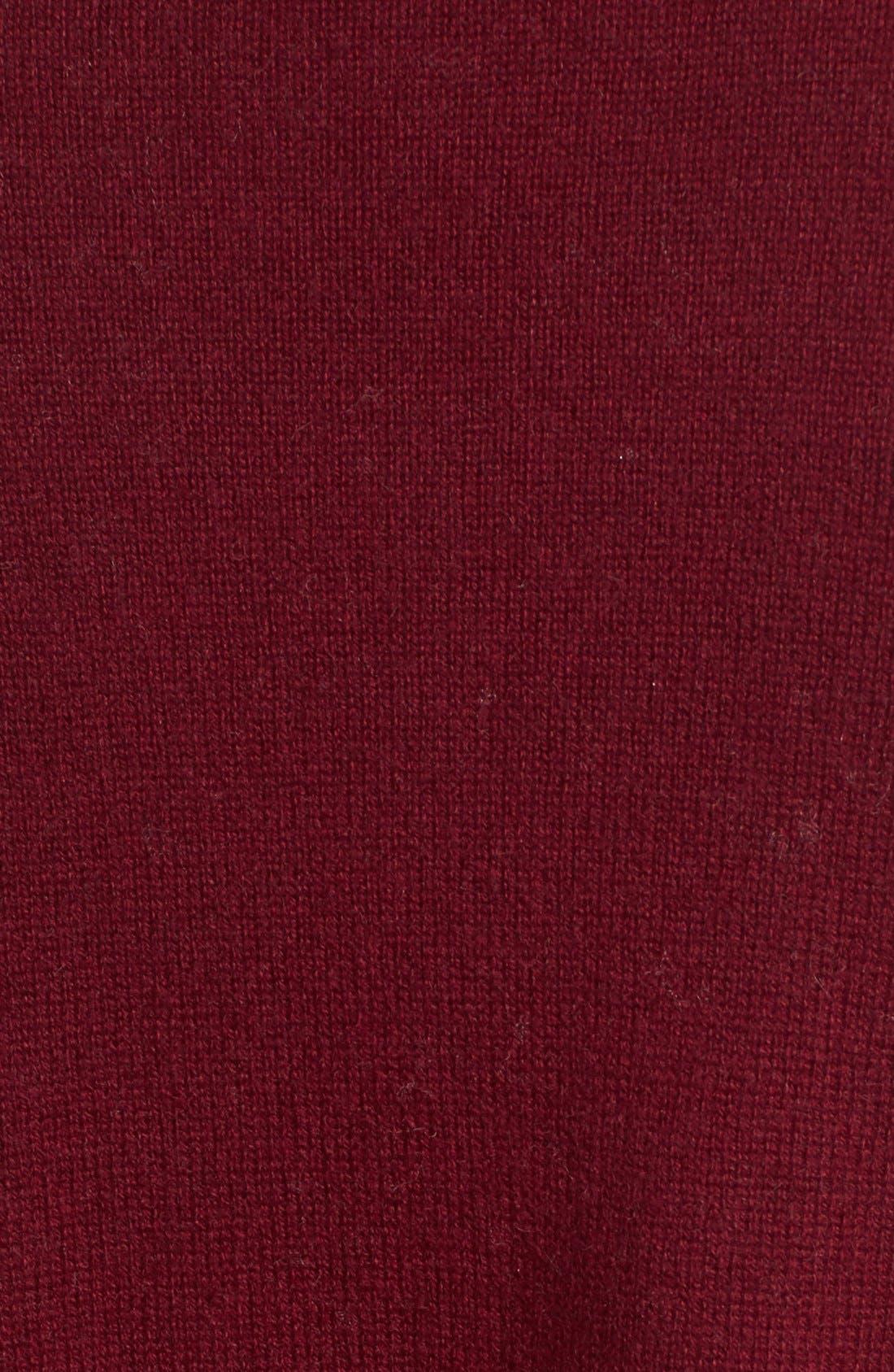 Wool & Cashmere Drape Front Sweater Vest,                             Alternate thumbnail 40, color,