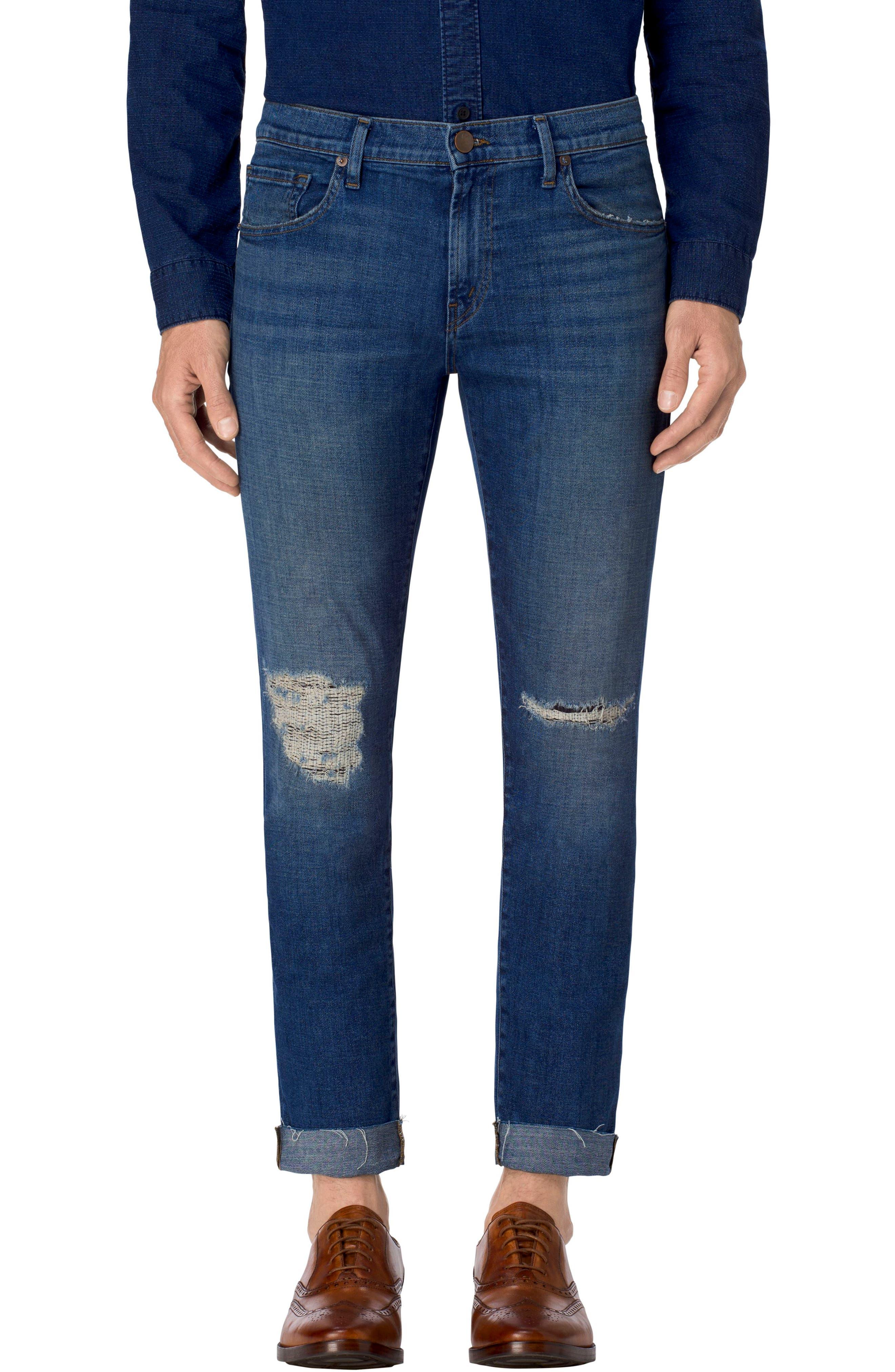 Tyler Slim Fit Jeans,                             Main thumbnail 1, color,                             485