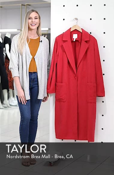 Single Button Long Jacket, sales video thumbnail